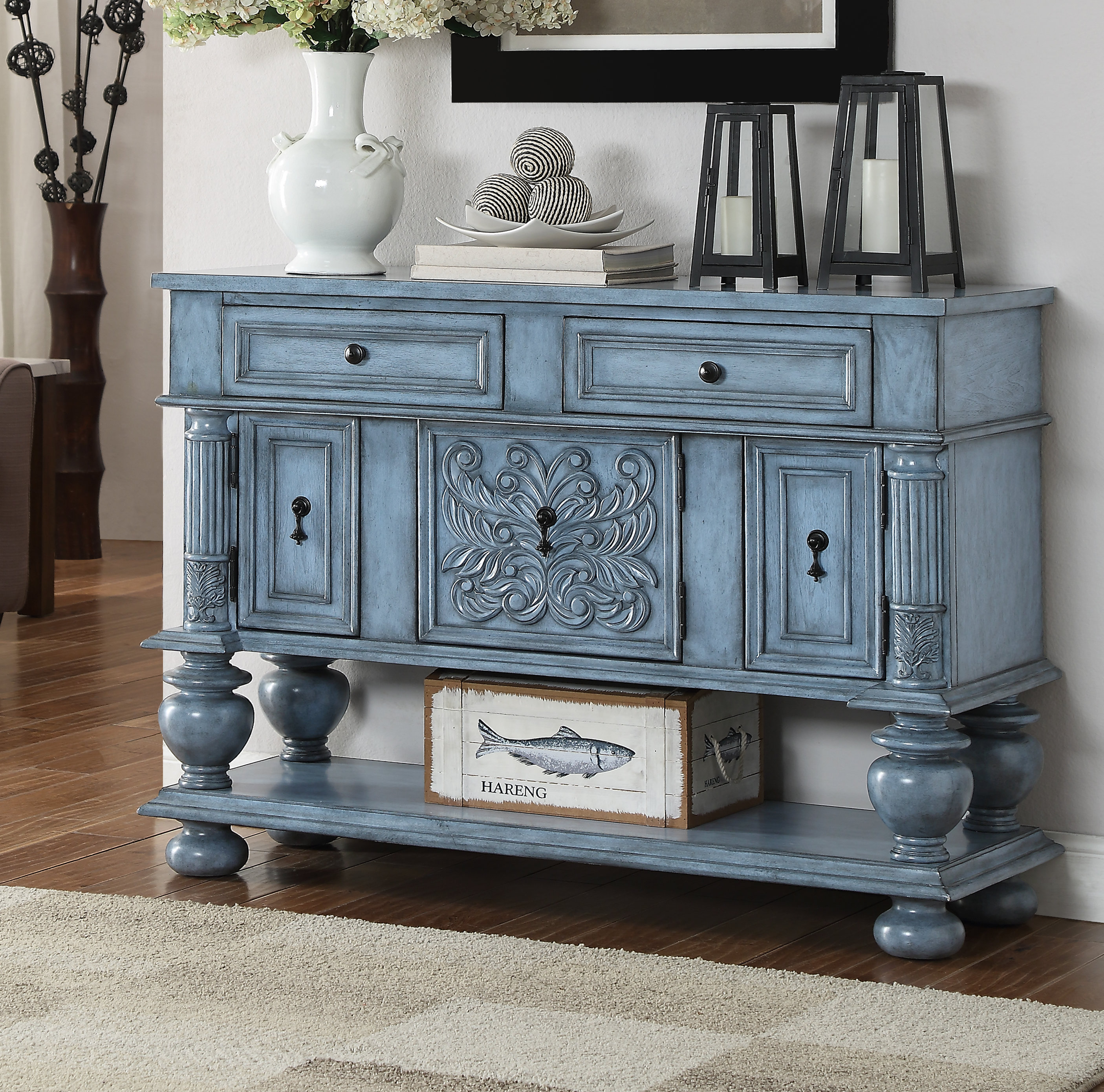Overbeck Server Pertaining To Deville Russelle Sideboards (View 25 of 30)