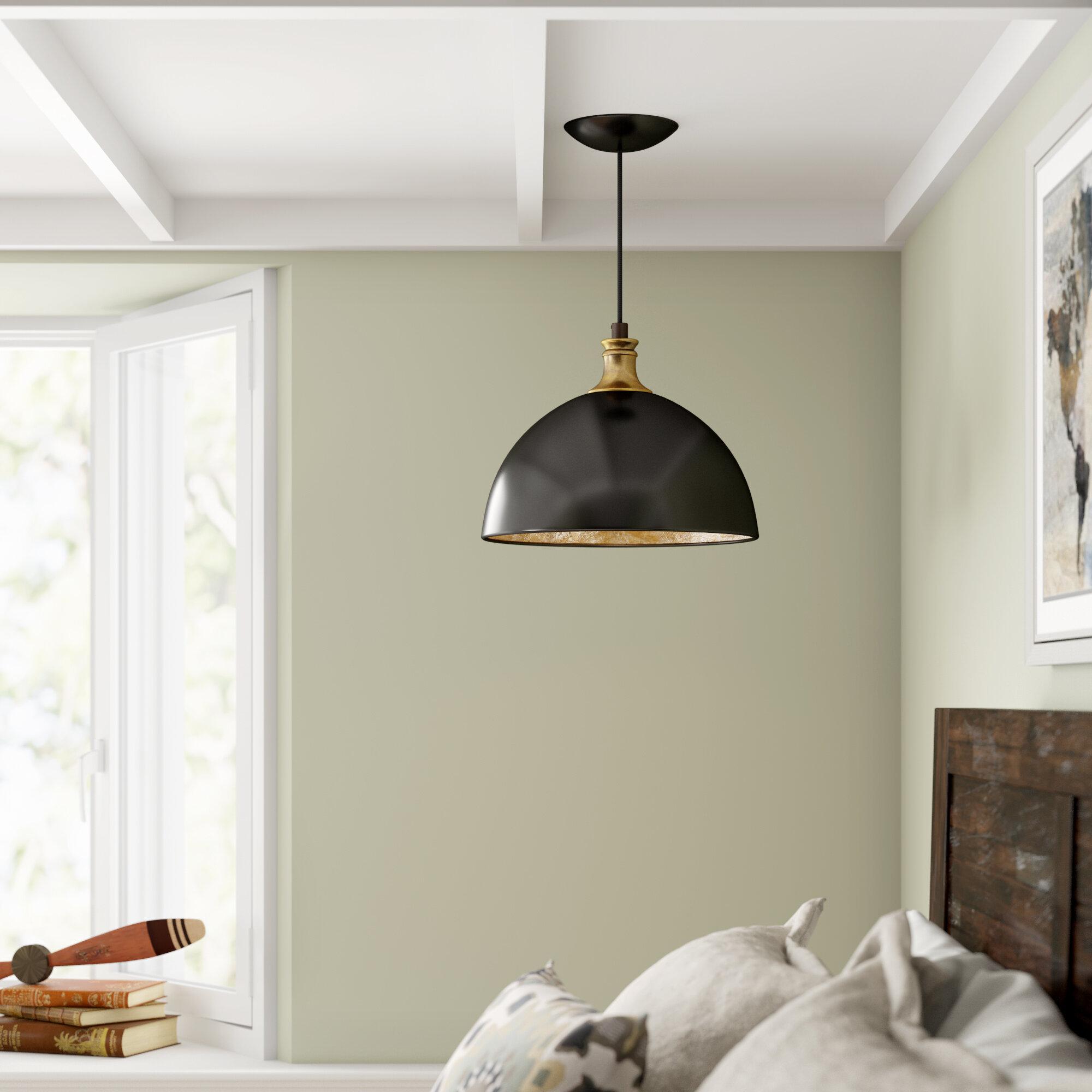 Oversized Dome Pendant Light | Wayfair Regarding Monadnock 1 Light Single Dome Pendants (View 23 of 30)