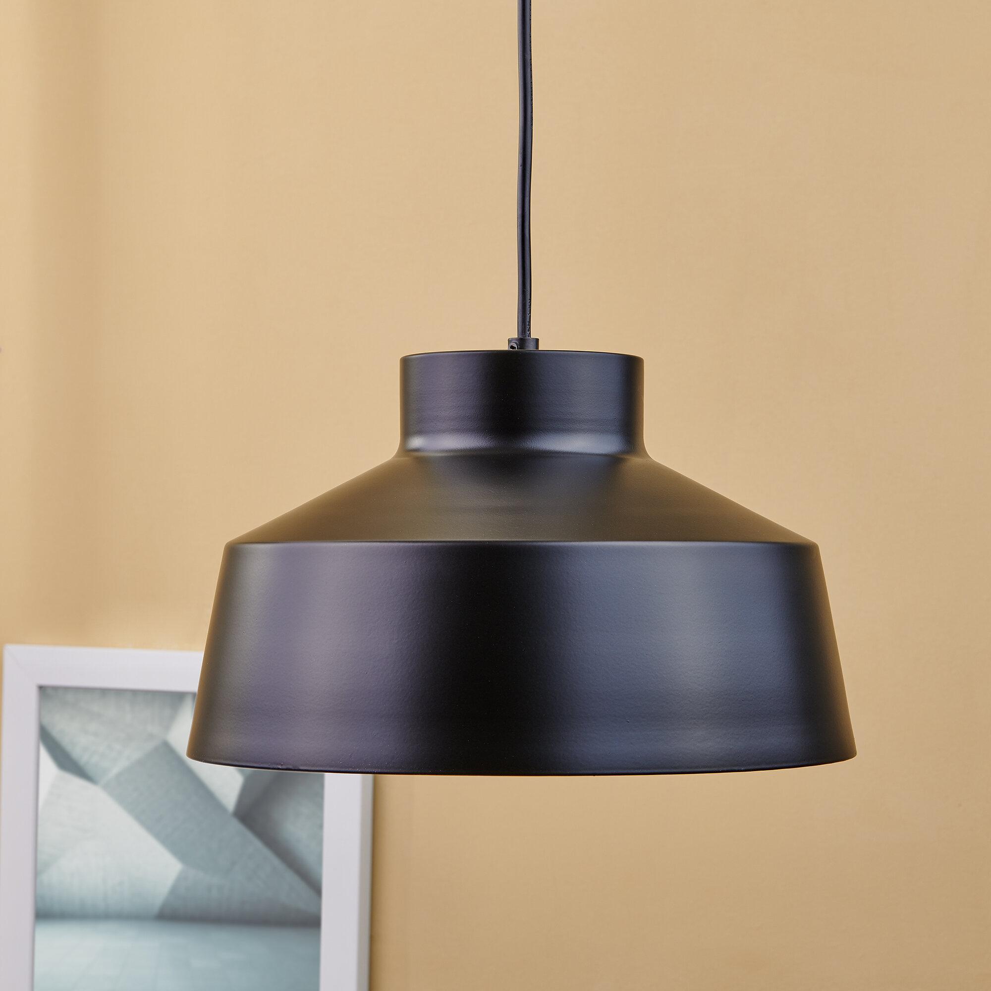 Oversized Dome Pendant Light | Wayfair with Monadnock 1-Light Single Dome Pendants (Image 24 of 30)