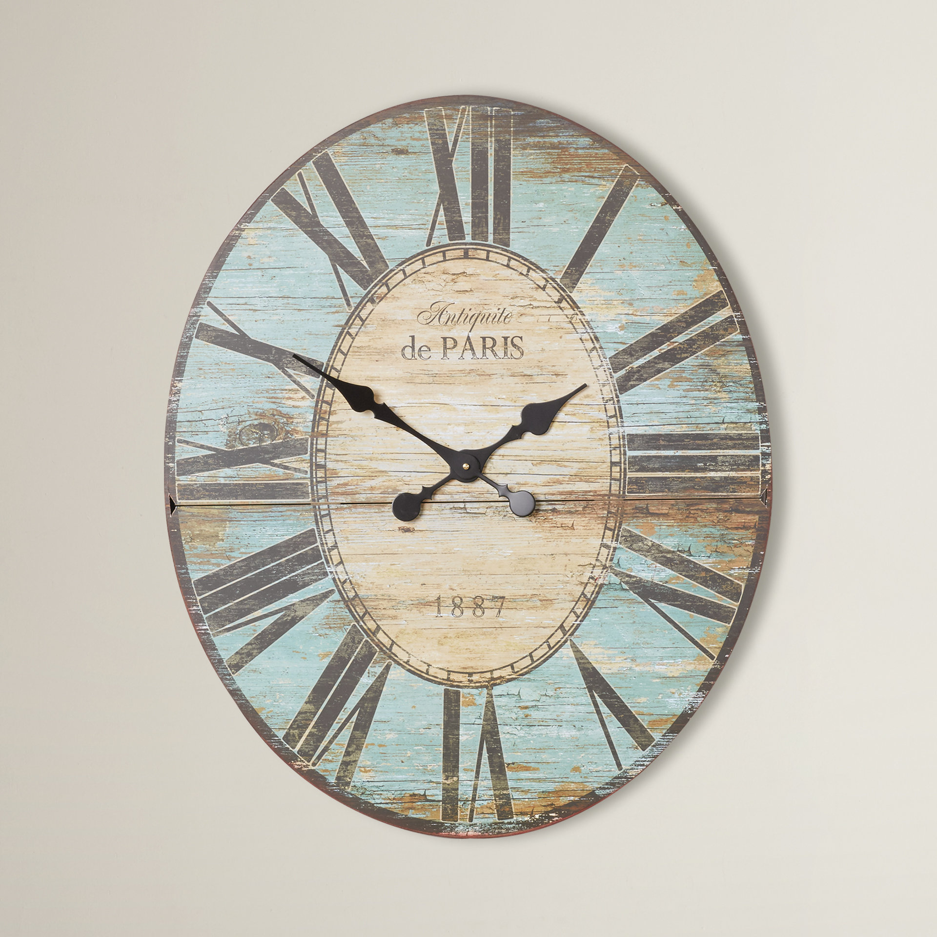 Oversized Wall Clock Intended For 1 Piece Ortie Panel Wall Decor (View 24 of 30)