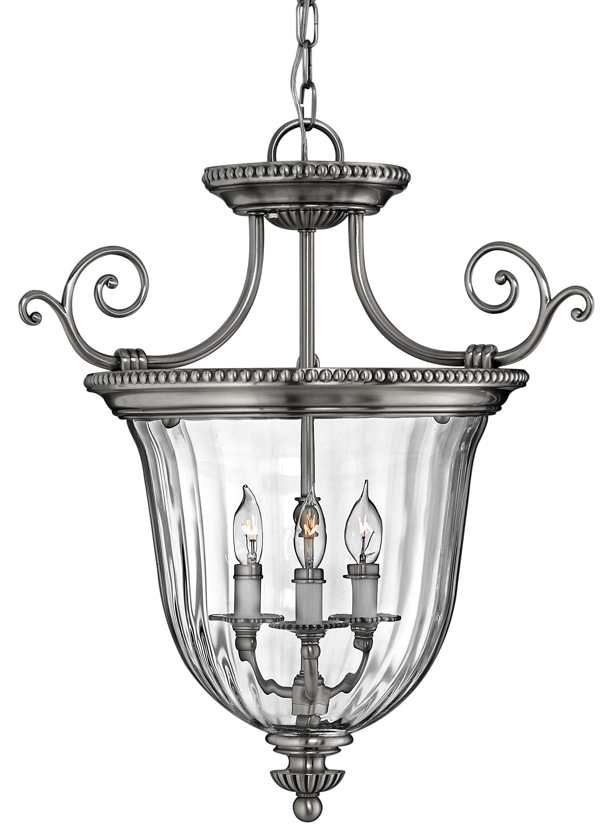 Oxford 3-Light Single Urn Pendant throughout 3-Light Single Urn Pendants (Image 23 of 30)