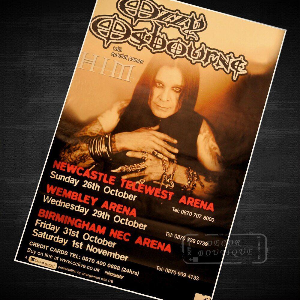 Ozzy Osbourne Music Class Propaganda Vintage Kraft Inside Osbourne Wall Decor (View 10 of 30)