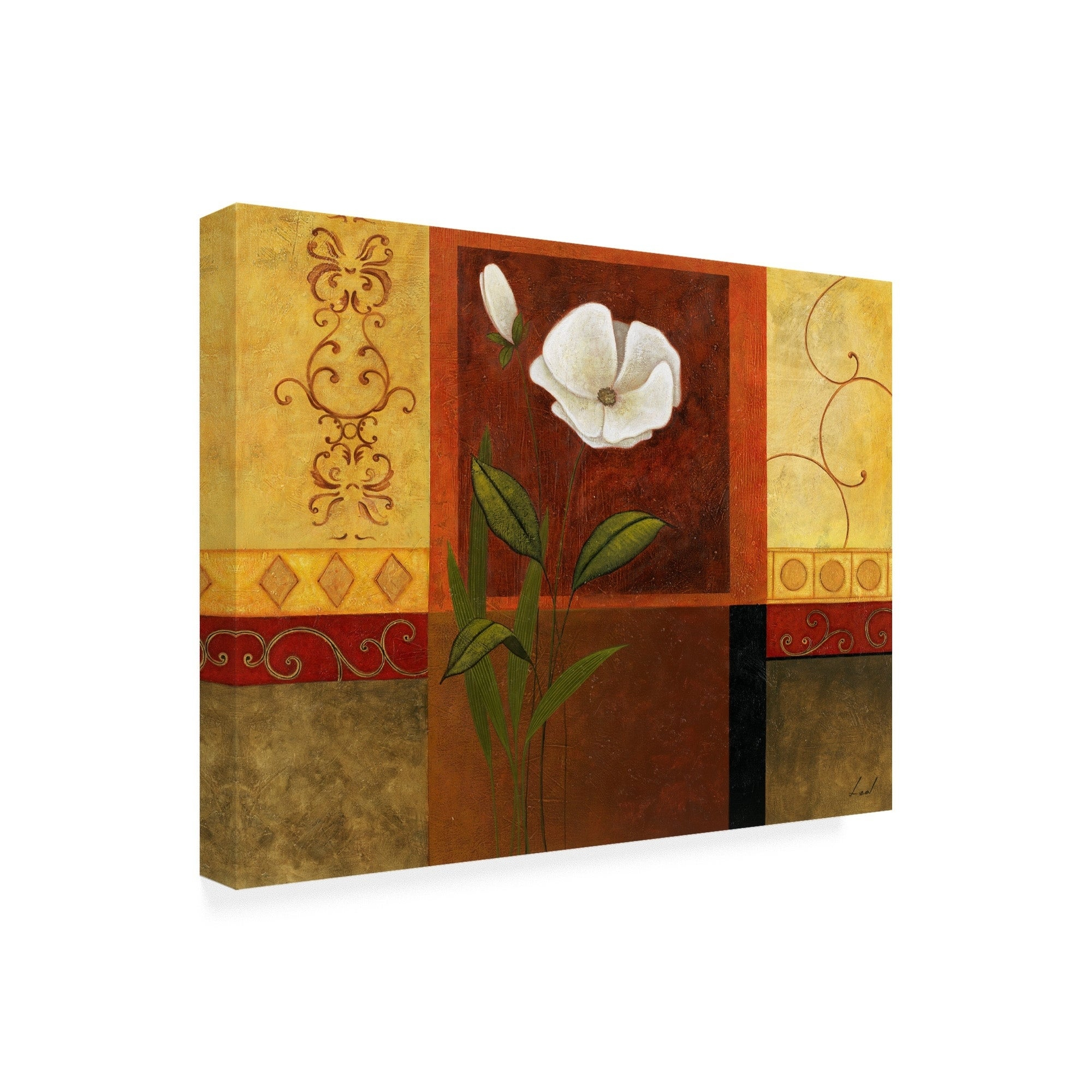 Pablo Esteban White On Panels 3 Canvas Art With Regard To 3 Piece Magnolia Brown Panel Wall Decor Sets (View 25 of 30)