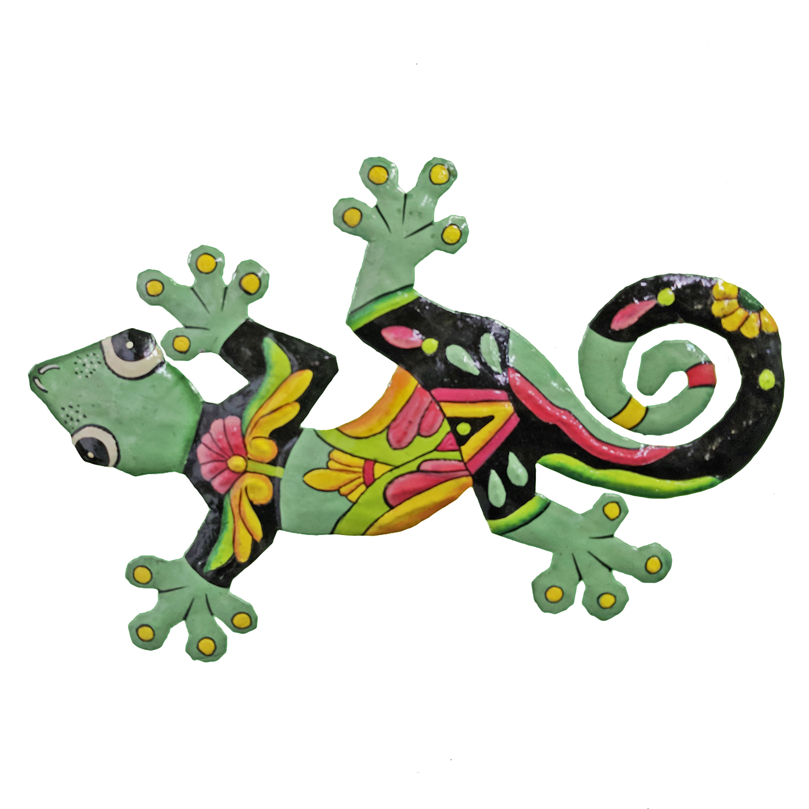 Painted Gecko Wall Décor For Gecko Wall Decor (View 21 of 30)