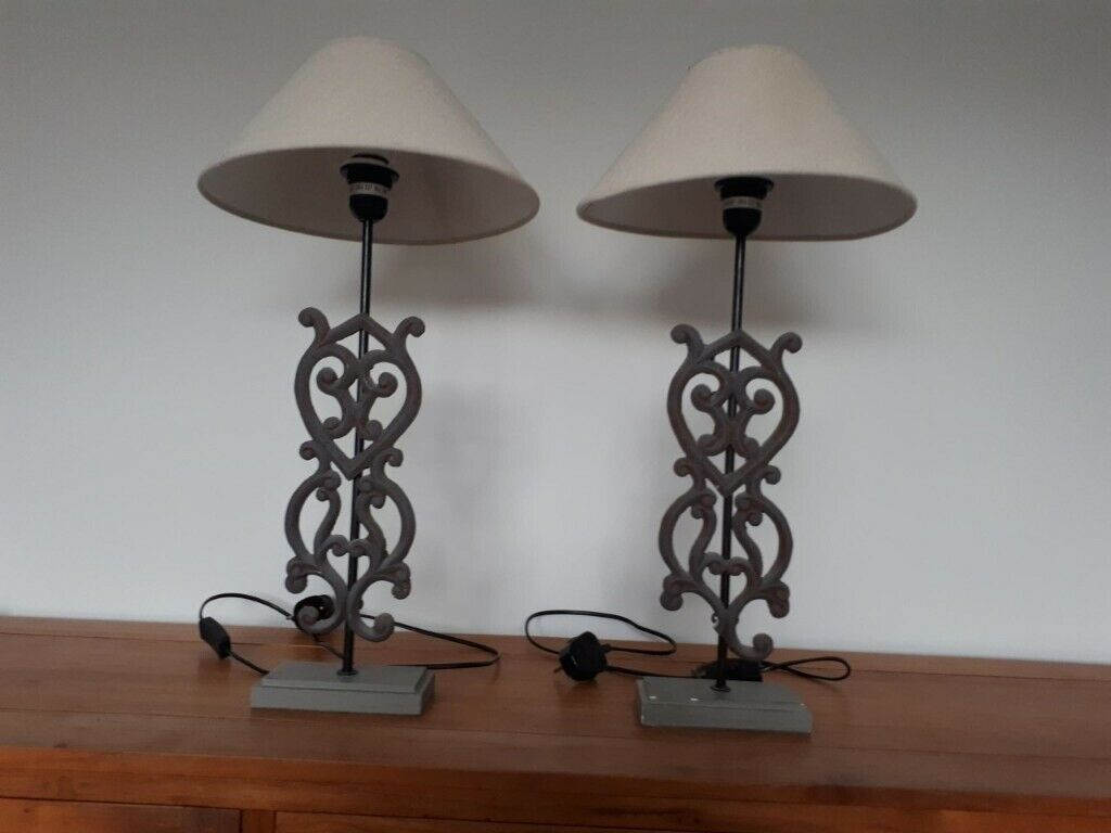 Pair Of Table Lamps | In Blackhall, Edinburgh | Gumtree intended for Sinead 4-Light Chandeliers (Image 25 of 30)