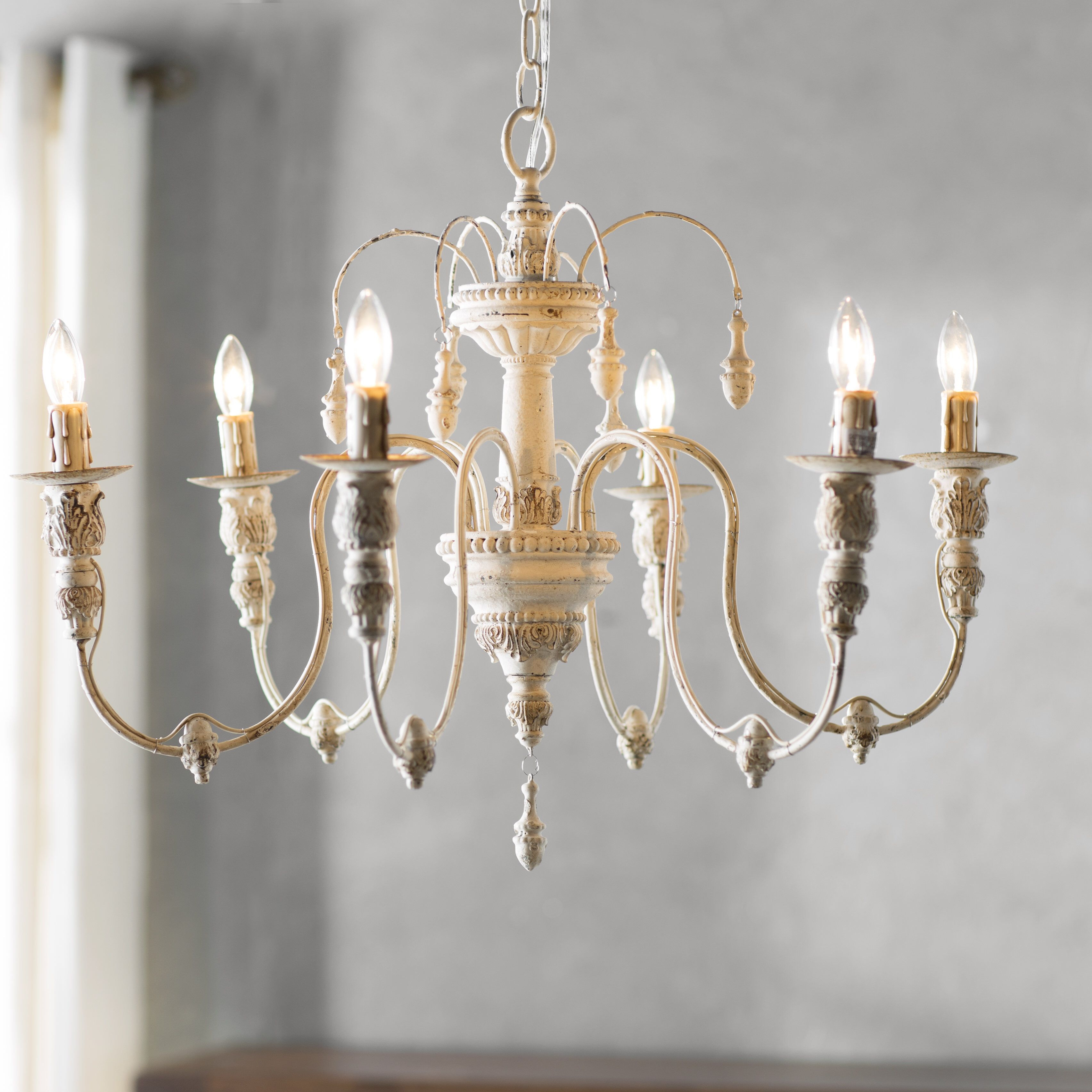 Paladino 6 Light Chandelier In 2019   Dining Room With Regard To Paladino 6 Light Chandeliers (View 4 of 30)