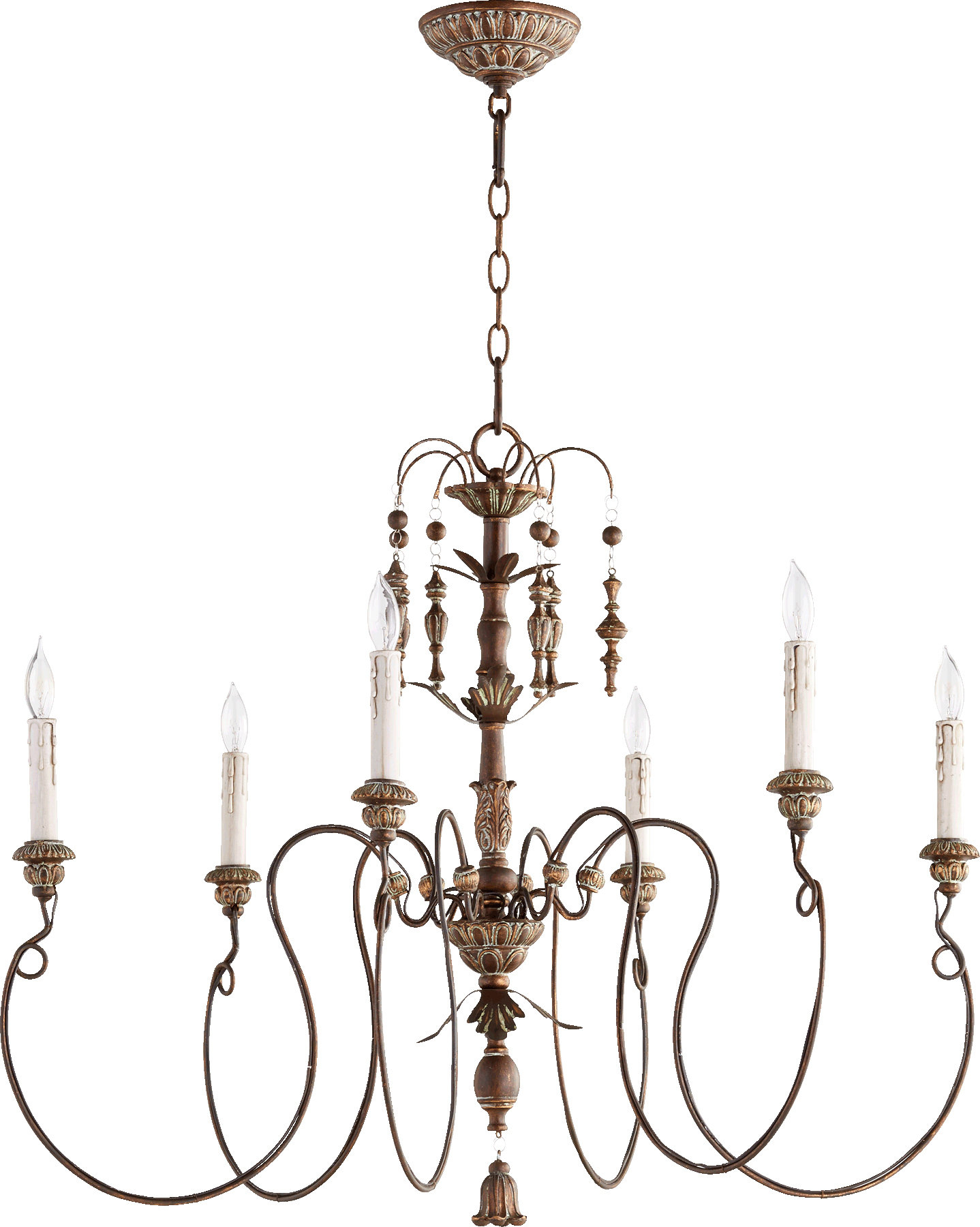 Paladino 6 Light Chandelier Within Paladino 6 Light Chandeliers (View 5 of 30)