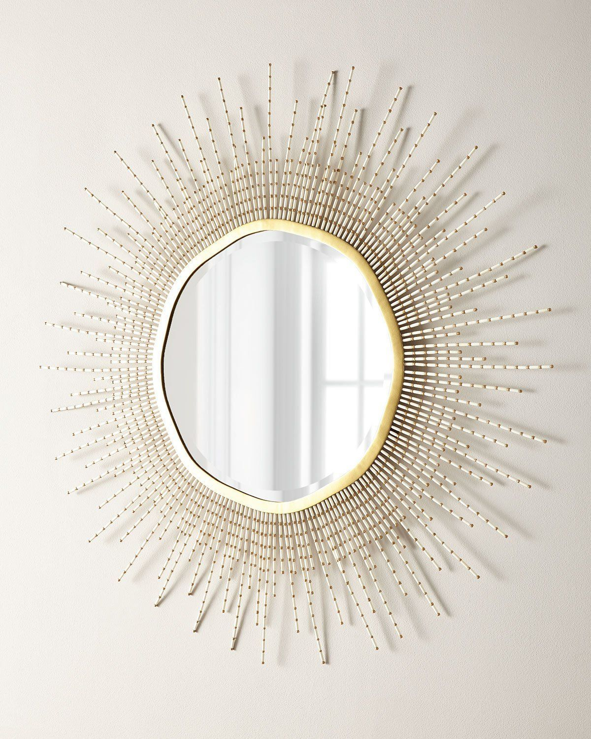 Palecek Sadie Beaded Mirror | Products | Beaded Mirror With Regard To Glam Beveled Accent Mirrors (View 14 of 30)