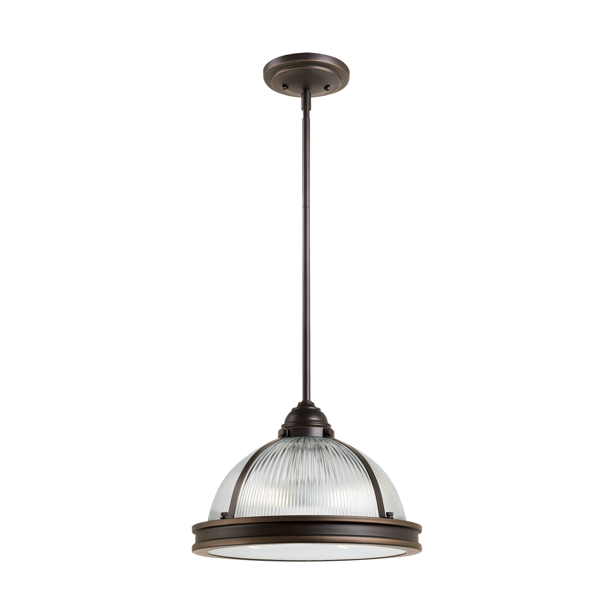 Palisade 2-Light Dome Pendant for Mueller 1-Light Single Dome Pendants (Image 23 of 30)