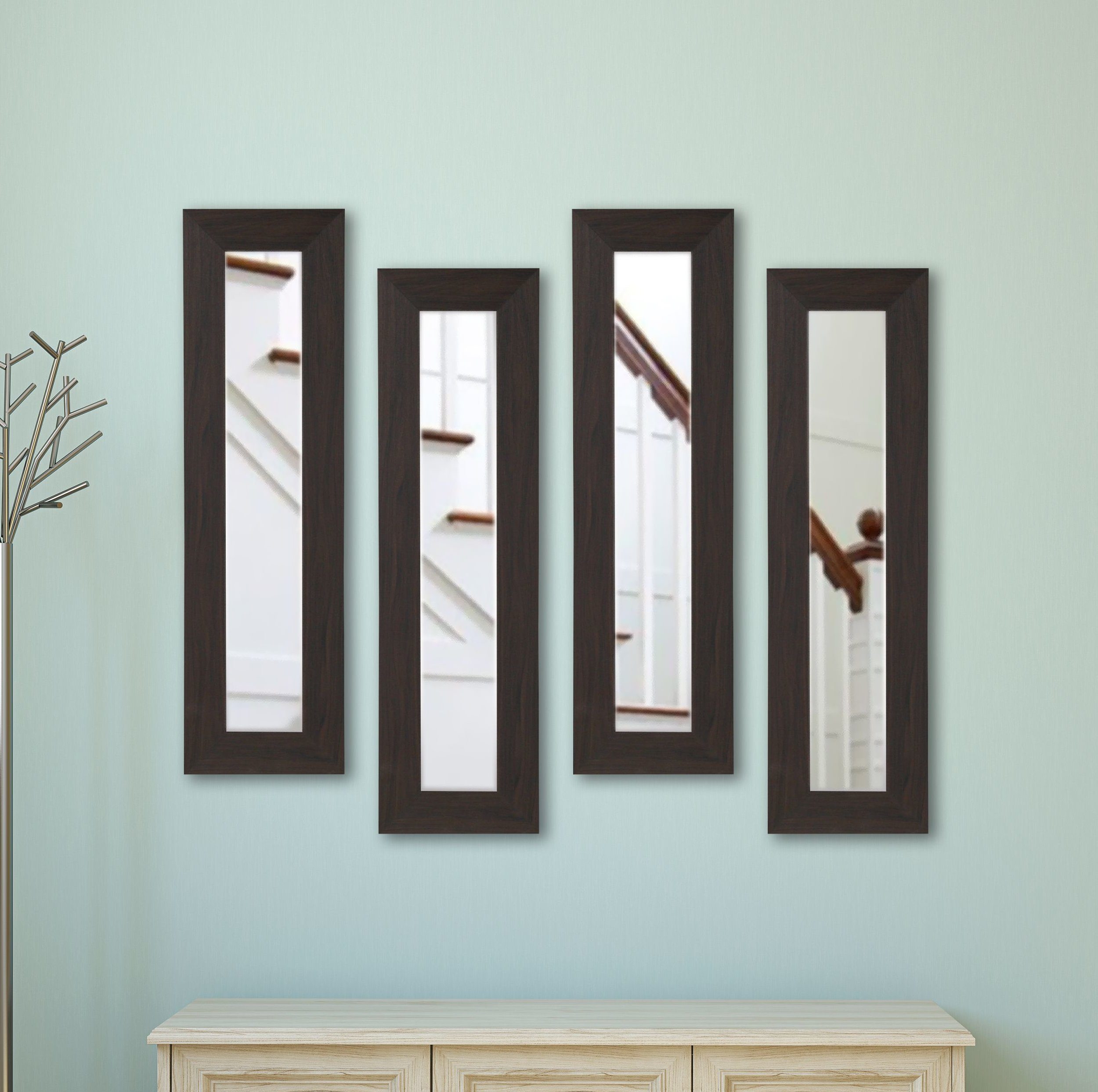 Panel Accent Mirror With Rena Accent Mirrors (View 20 of 30)