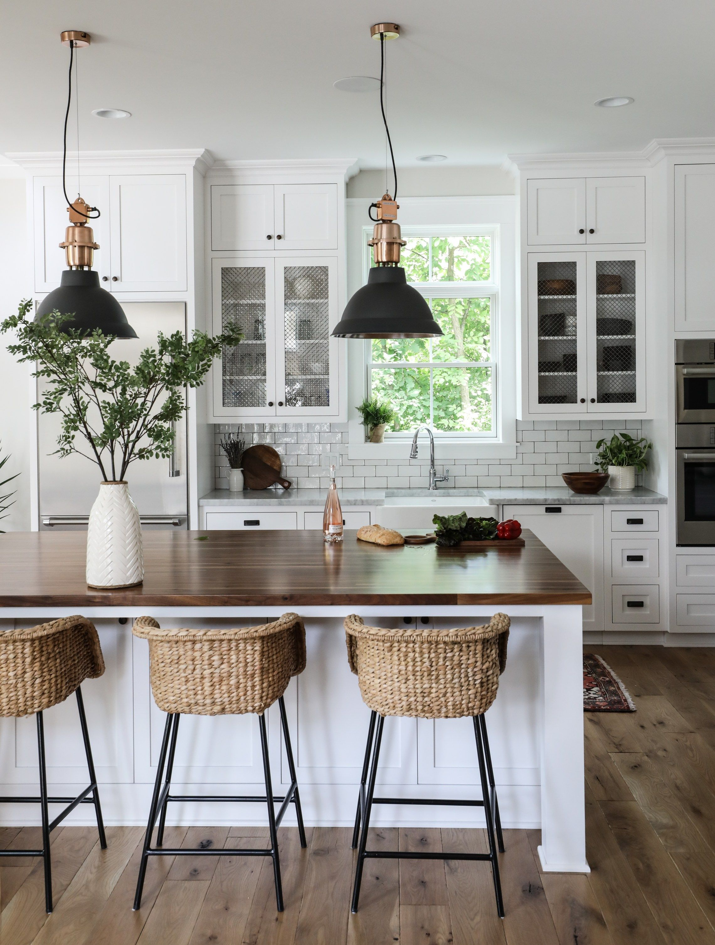 Park And Oak | Kitchens | Home Decor Kitchen, Farmhouse Pertaining To Schutt 4 Light Kitchen Island Pendants (View 16 of 30)