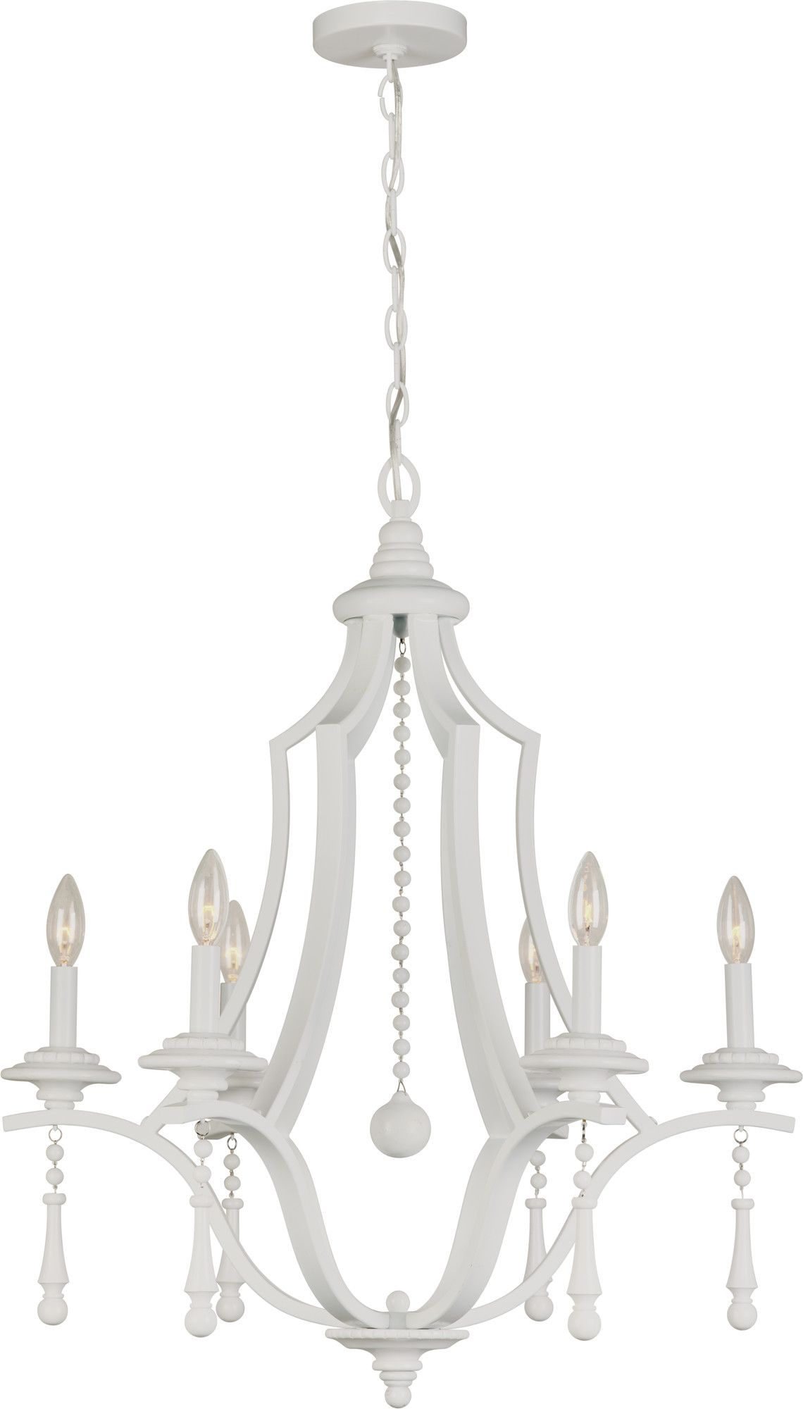 Parson 6 Light Chandelier | Products | Chandelier Lighting Pertaining To Diaz 6 Light Candle Style Chandeliers (View 16 of 30)