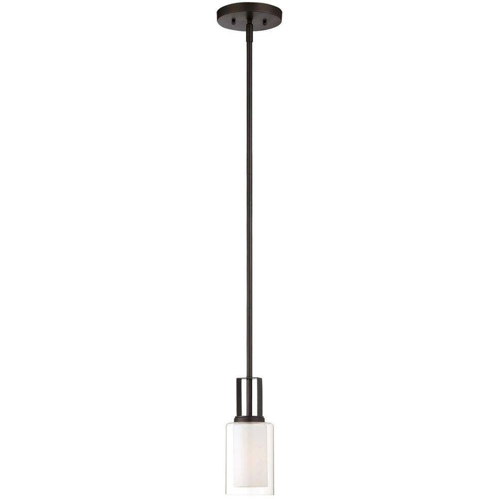 Parsons Studio 1 Light Smoked Iron Mini Pendant Intended For Delon 1 Light Lantern Geometric Pendants (View 23 of 30)