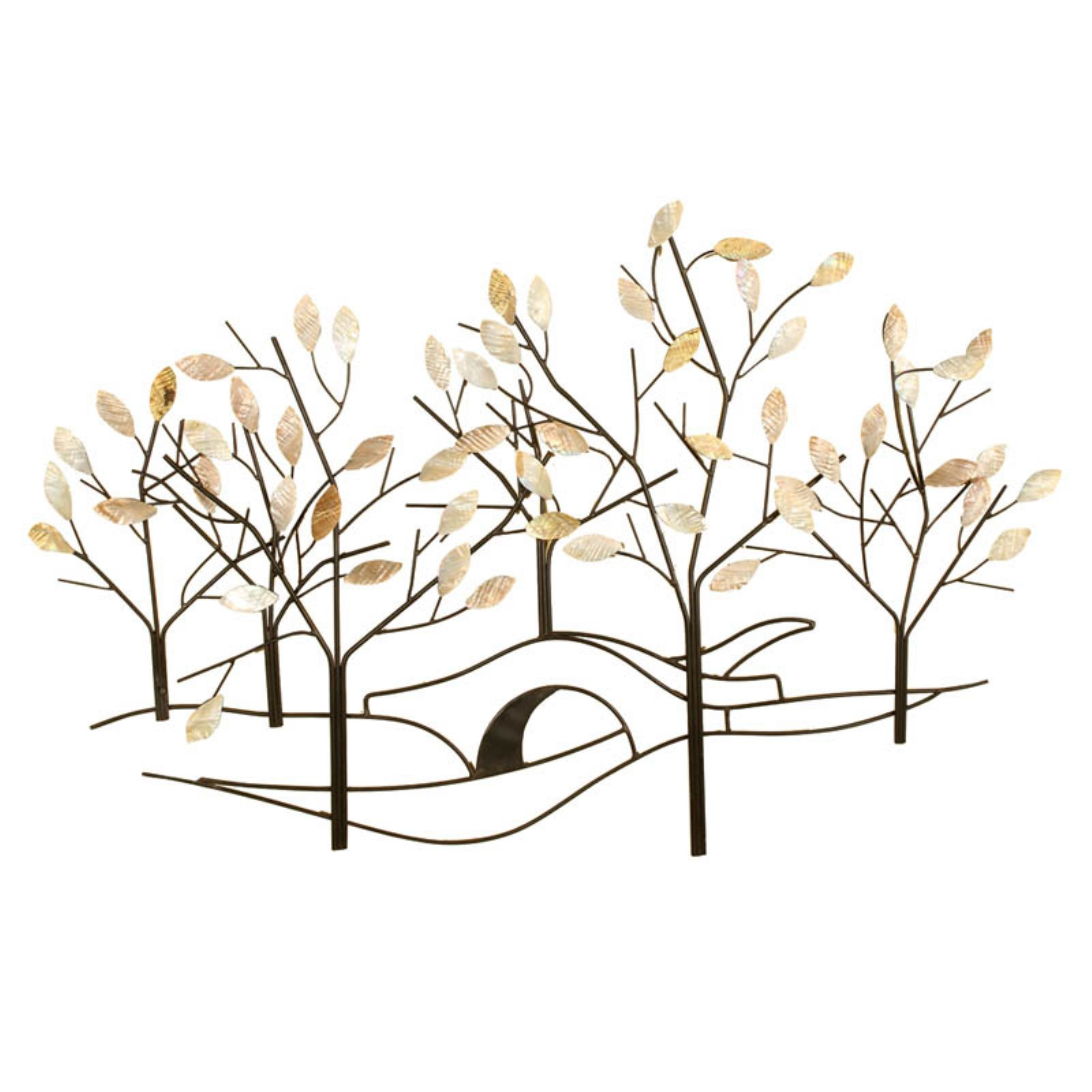 Passport Tree Lined Street Metal Wall Decor – (View 18 of 30)