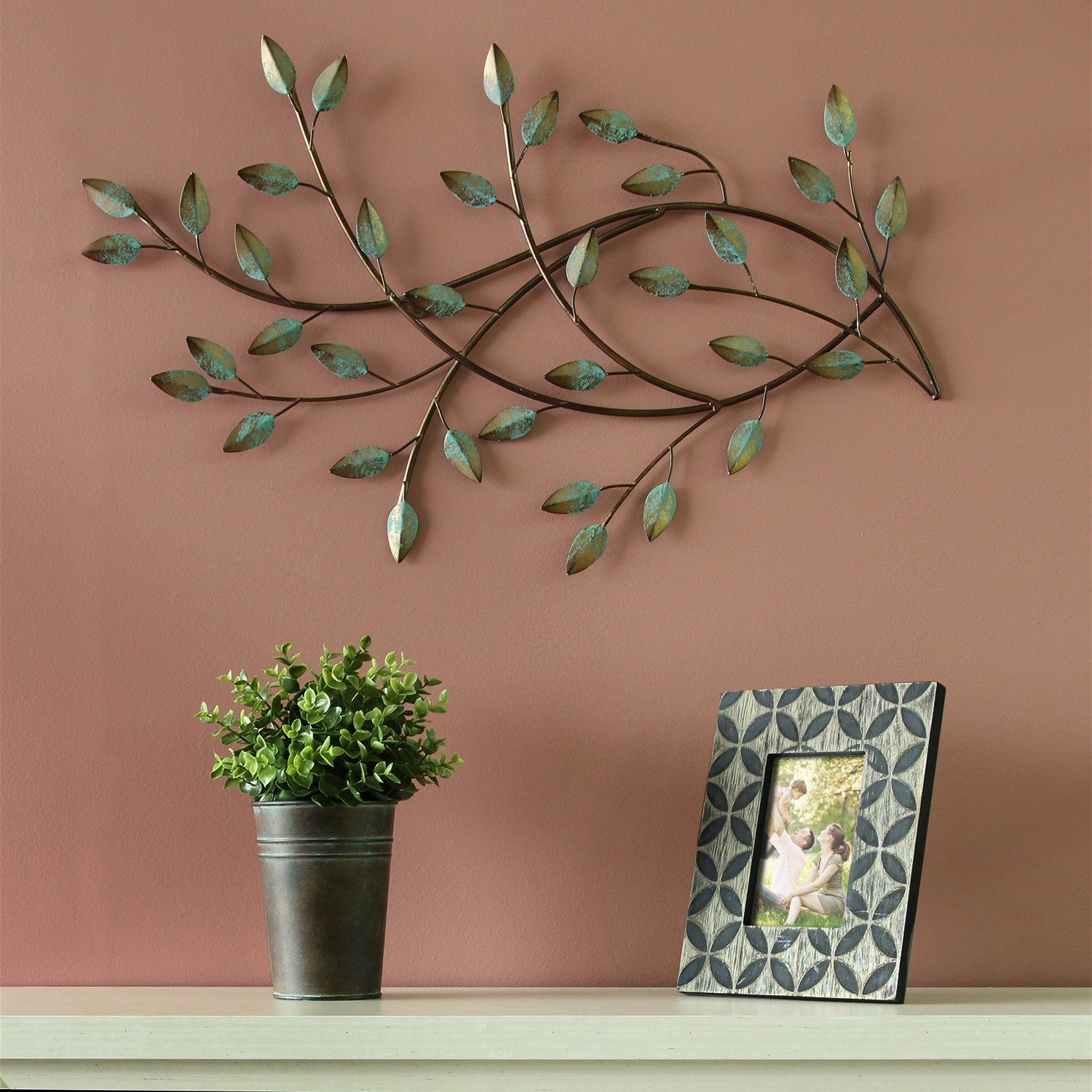 Patina Blowing Leaves Wall Décor Pertaining To Wall Decor By Charlton Home (View 15 of 30)