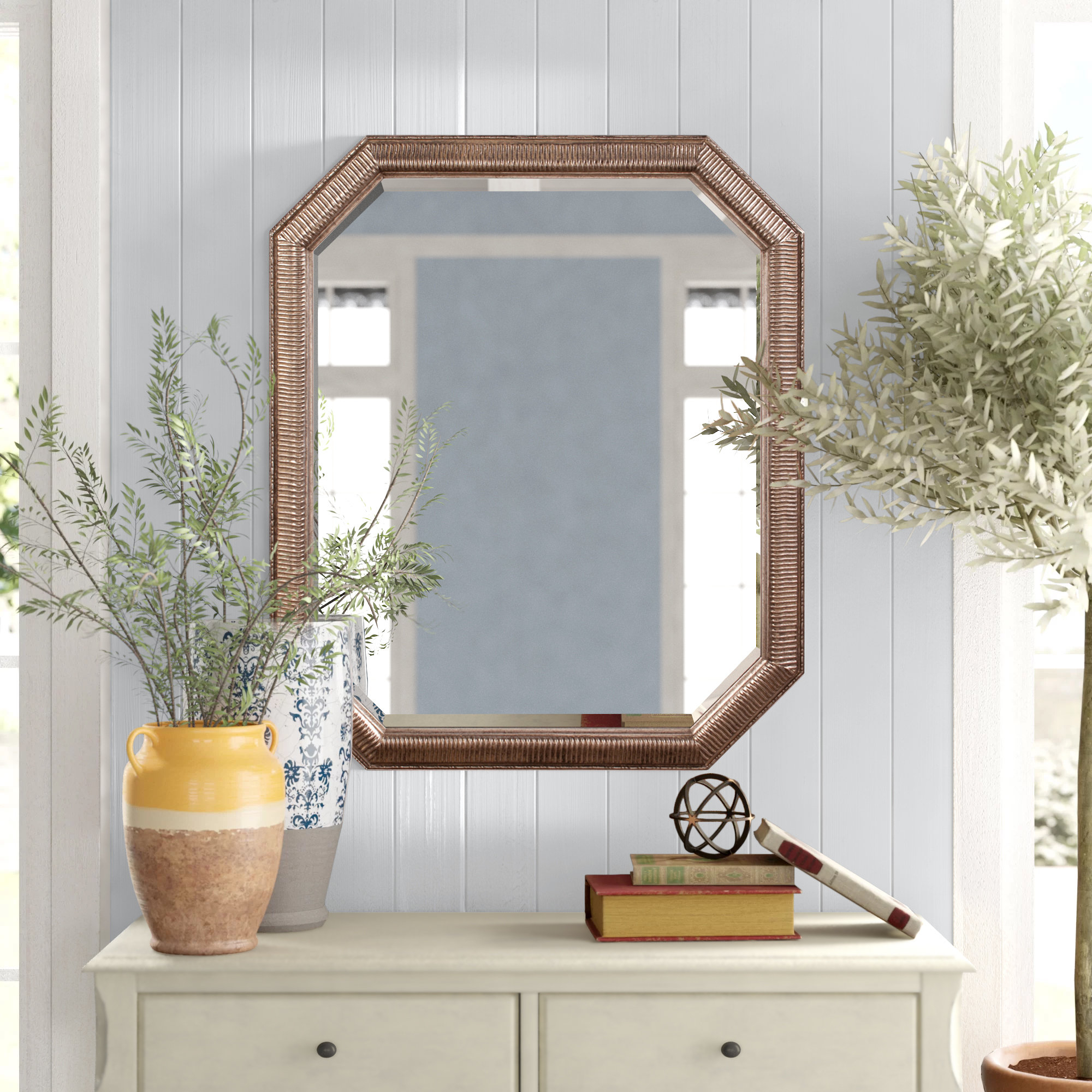 Patrizia Traditional Accent Mirror With Regard To Maude Accent Mirrors (View 3 of 30)