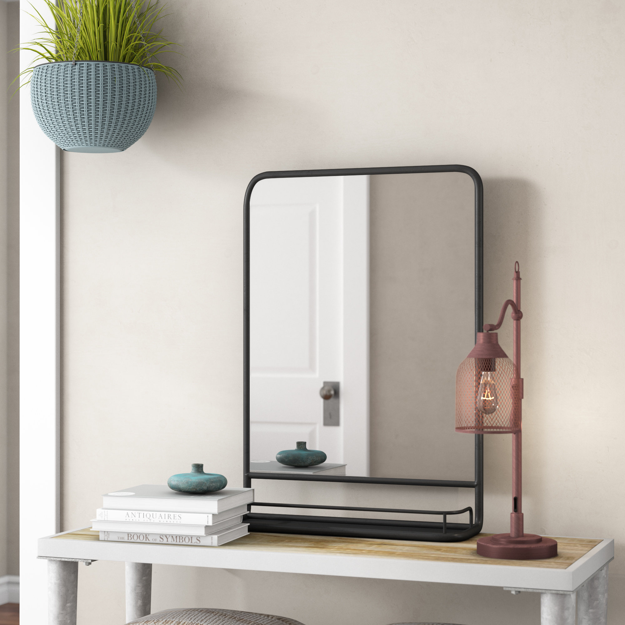 Featured Photo of Peetz Modern Rustic Accent Mirrors