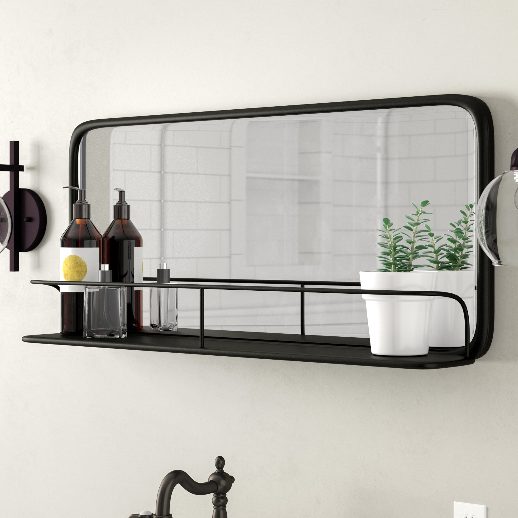 Peetz Modern Rustic Accent Mirror intended for Peetz Modern Rustic Accent Mirrors (Image 24 of 30)