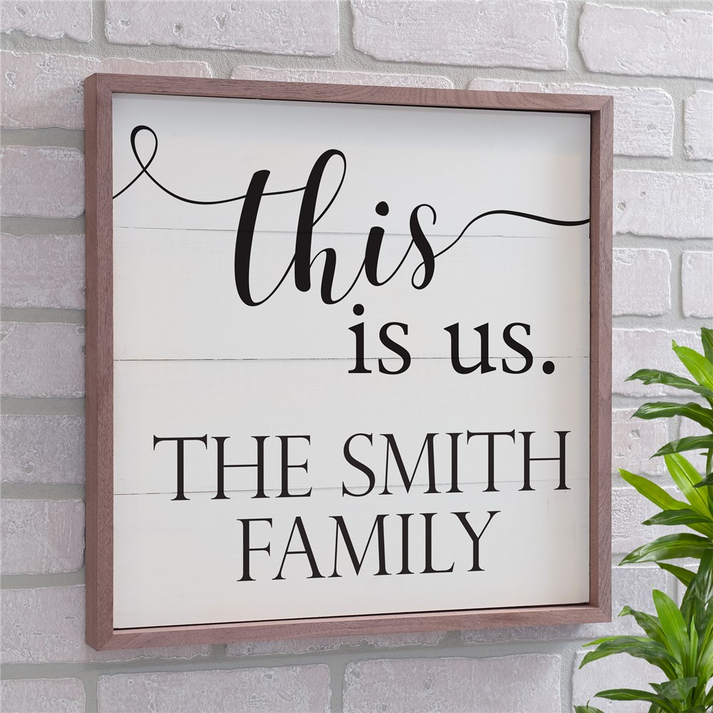 Personalized This Is Us Wood Pallet Wall Decor For This Is Us Wall Decor (View 11 of 30)