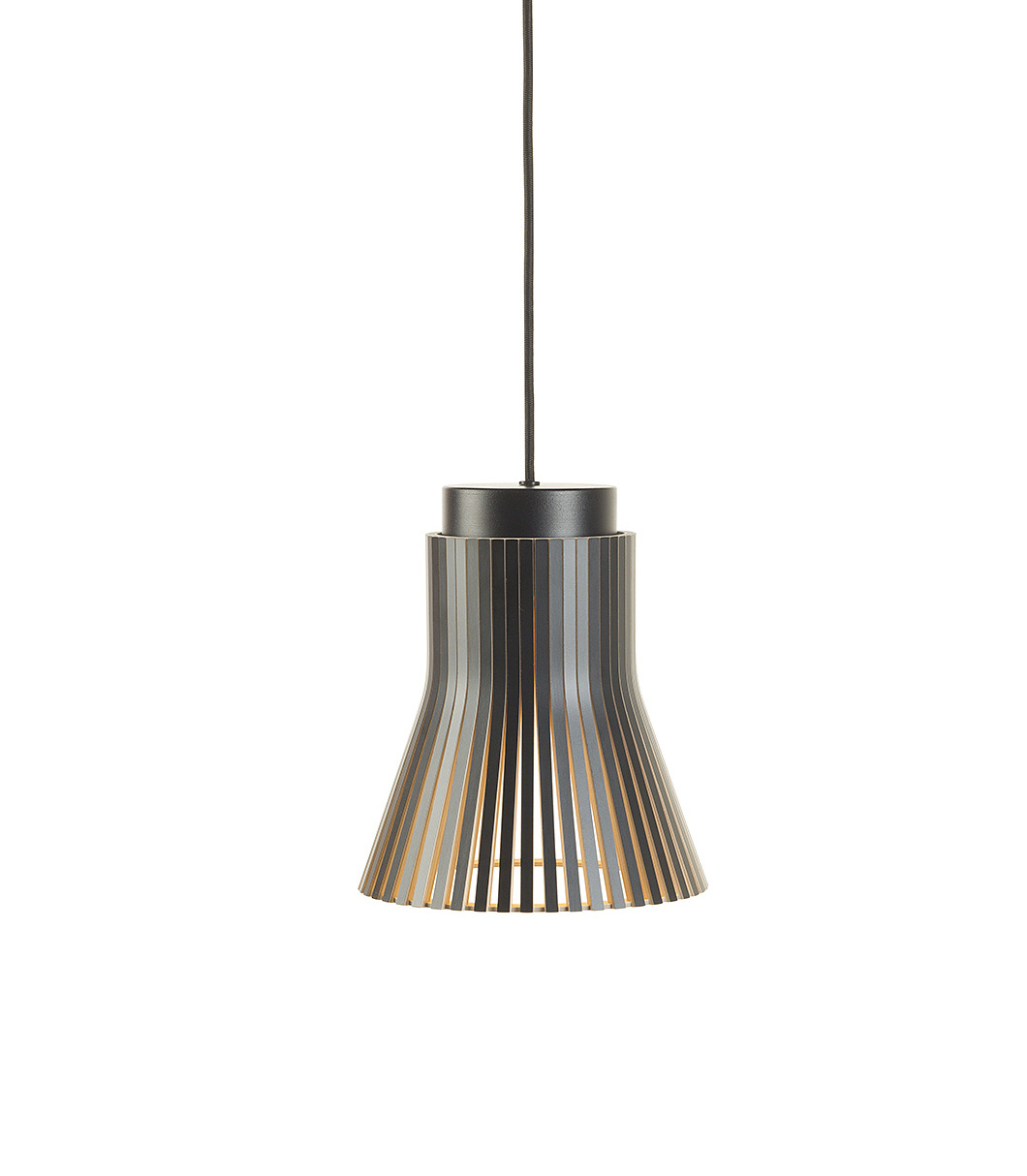 Petite 4600 Wooden Modern Pendant Lamp Secto Design | Secto for Fennia 1-Light Single Cylinder Pendants (Image 25 of 30)