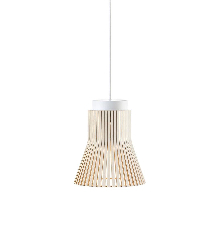 Petite 4600 Wooden Modern Pendant Lamp Secto Design | Secto inside Fennia 1-Light Single Cylinder Pendants (Image 26 of 30)