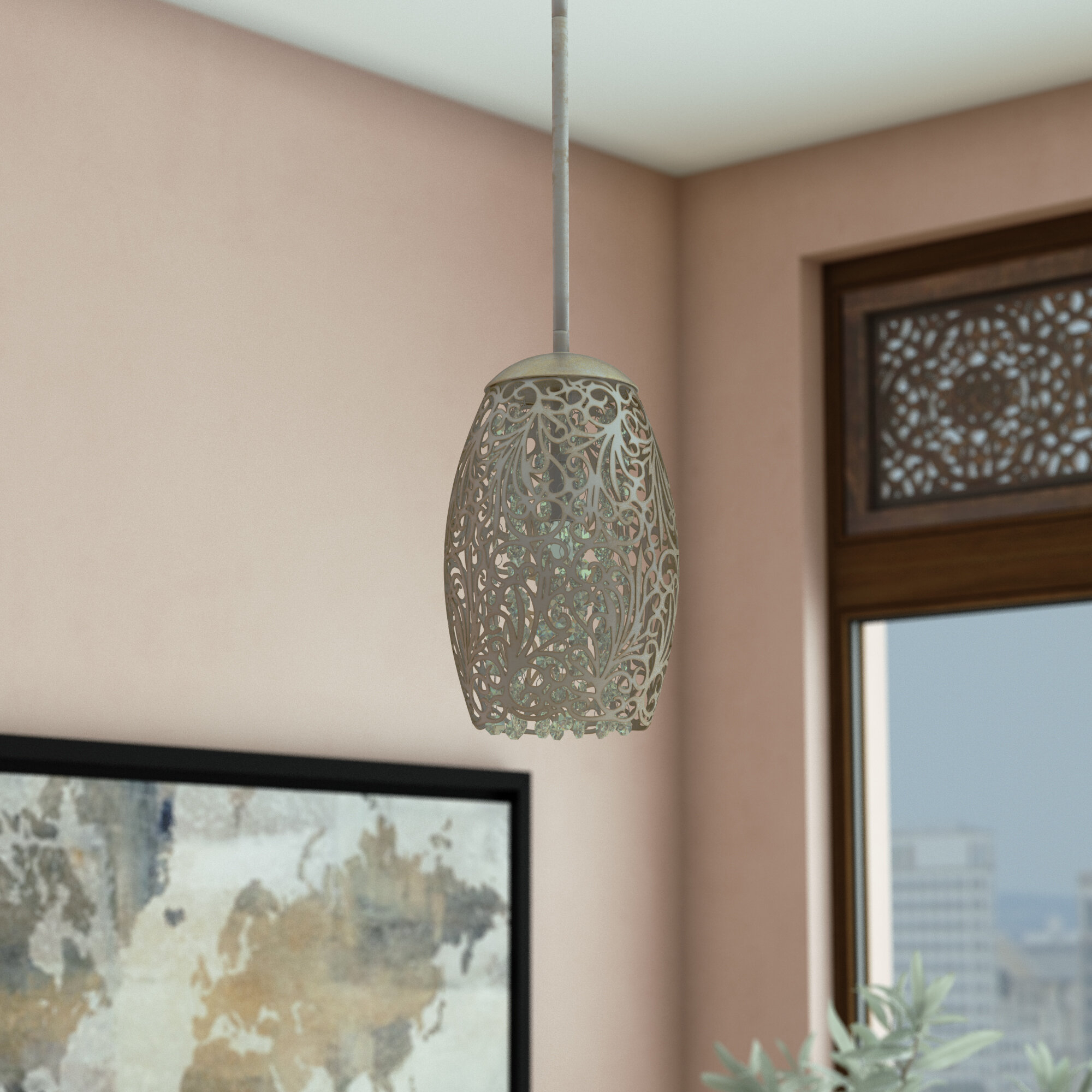 Pewter & Silver & Satin Nickel Pendant Lighting You'll Love With Guro 1 Light Cone Pendants (View 22 of 30)