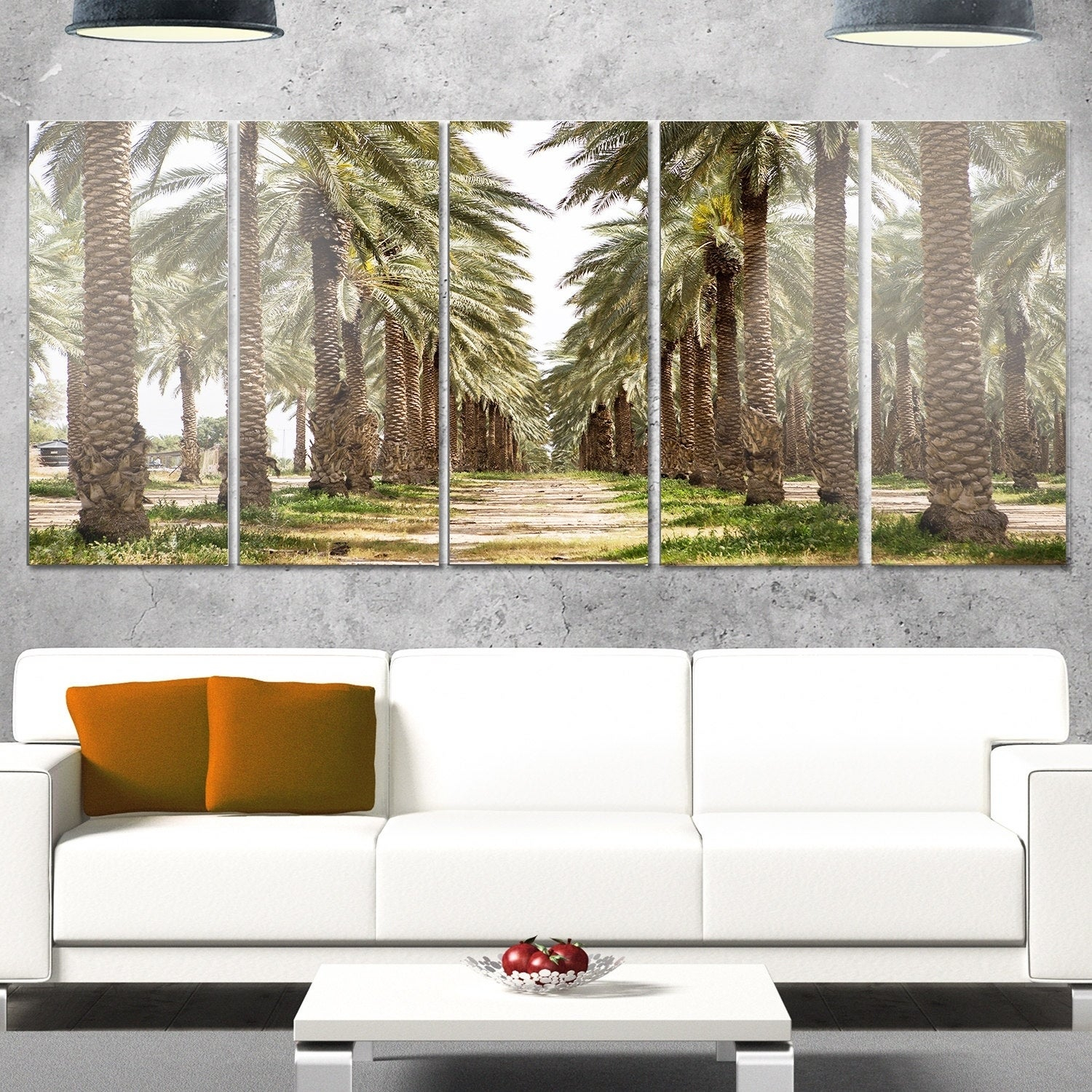 Phase1 Designart 'date Palm Plantation Photography' Modern Forest Glossy Metal Wall Art Intended For Contemporary Forest Metal Wall Decor (View 22 of 30)