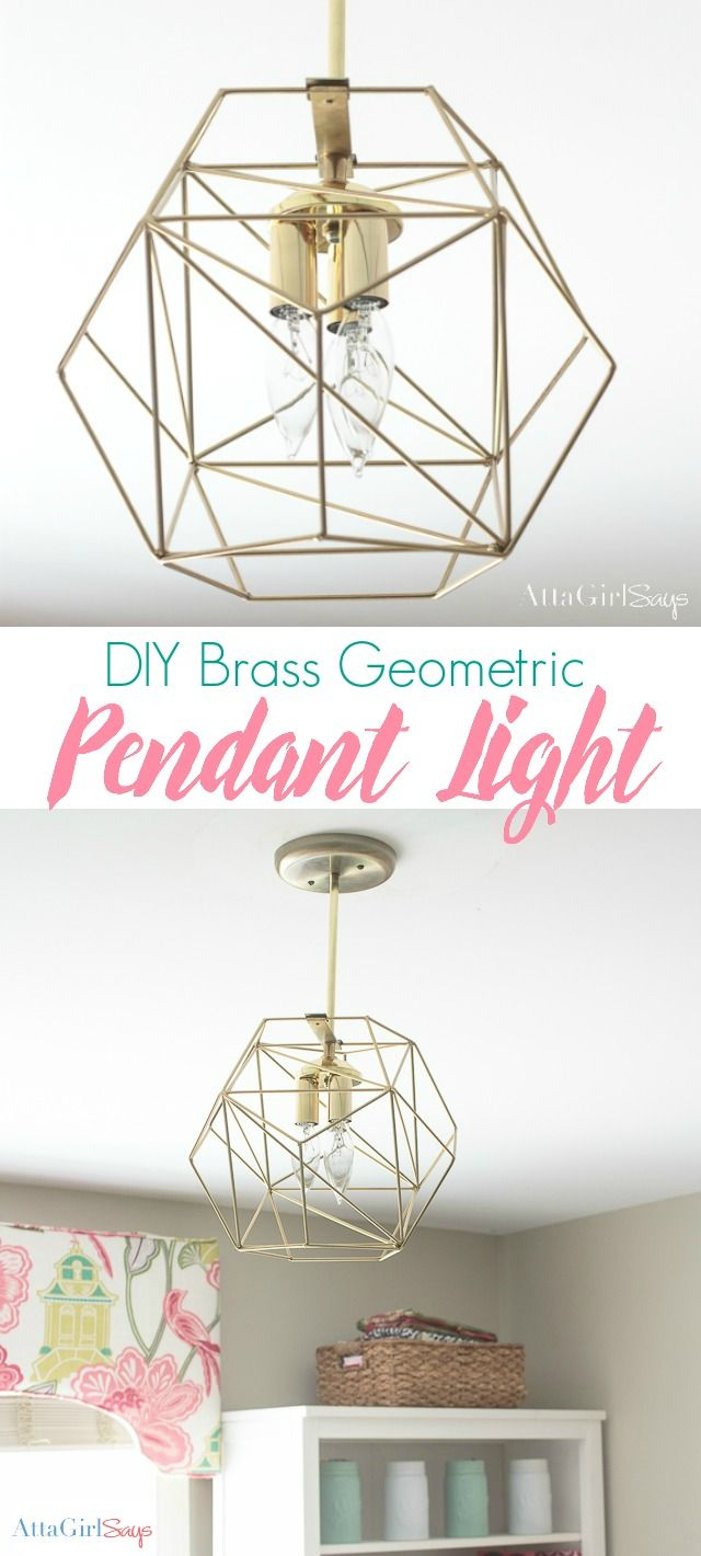 Pin On Atta Girl Creates Inside 1 Light Unique / Statement Geometric Pendants (View 26 of 30)