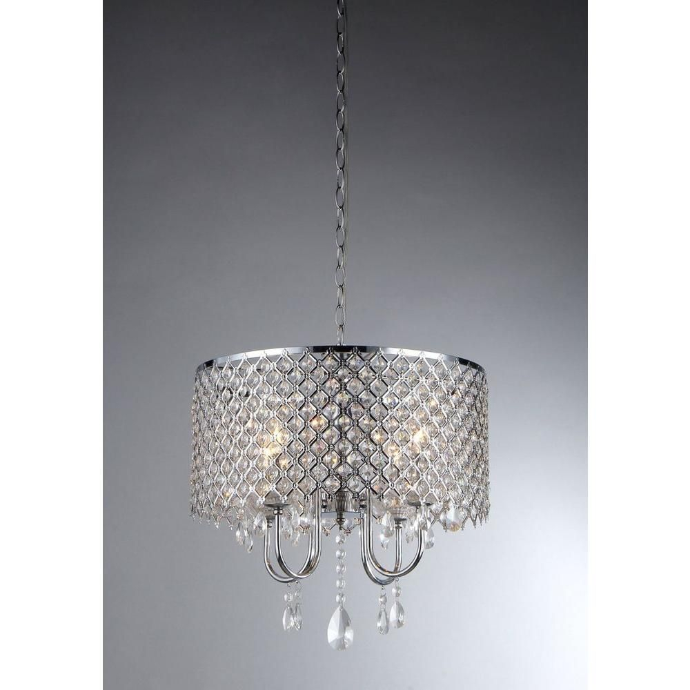Pin On Products Regarding Mckamey 4 Light Crystal Chandeliers (View 22 of 30)