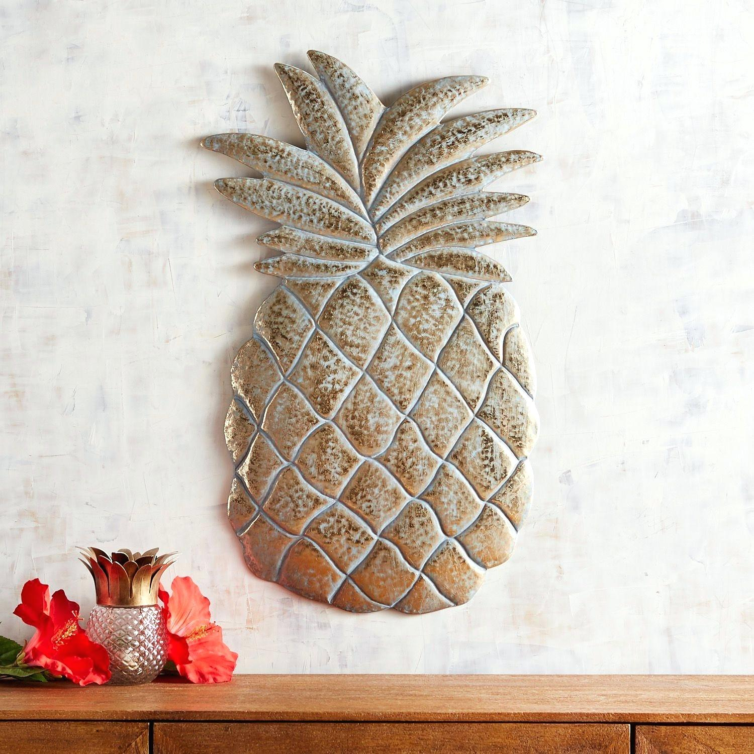 Pineapple Wall Decor – Senfo Pertaining To Pineapple Wall Decor (View 23 of 30)