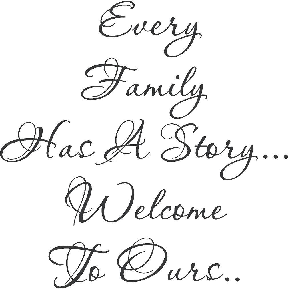 "Poems And Quotes About Family. Quotesgram@quotesgram with regard to In-A-Word ""welcome"" Wall Decor By Fireside Home (Image 18 of 30)"
