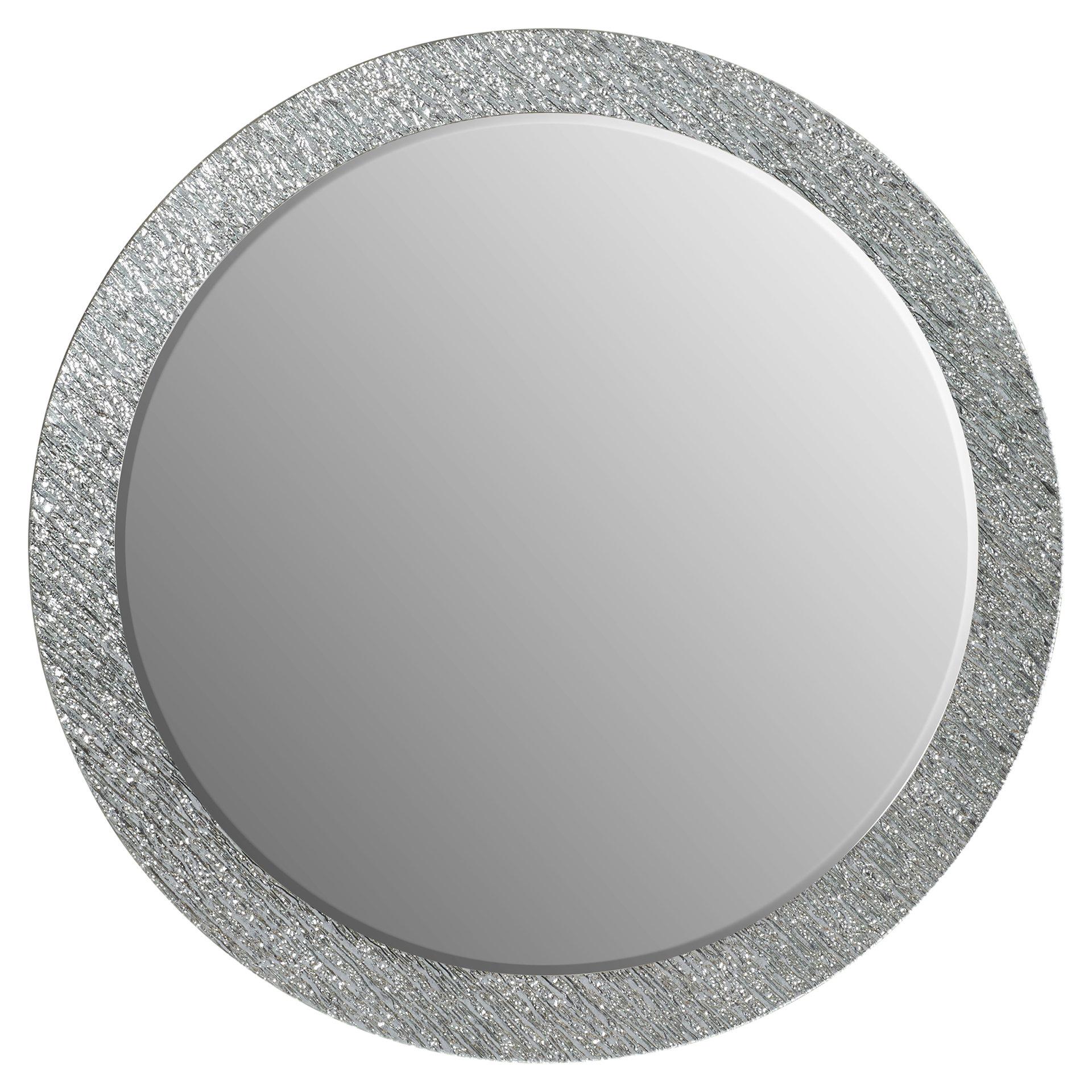 Point Reyes Molten Round Wall Mirror Pertaining To Point Reyes Molten Round Wall Mirrors (View 18 of 30)
