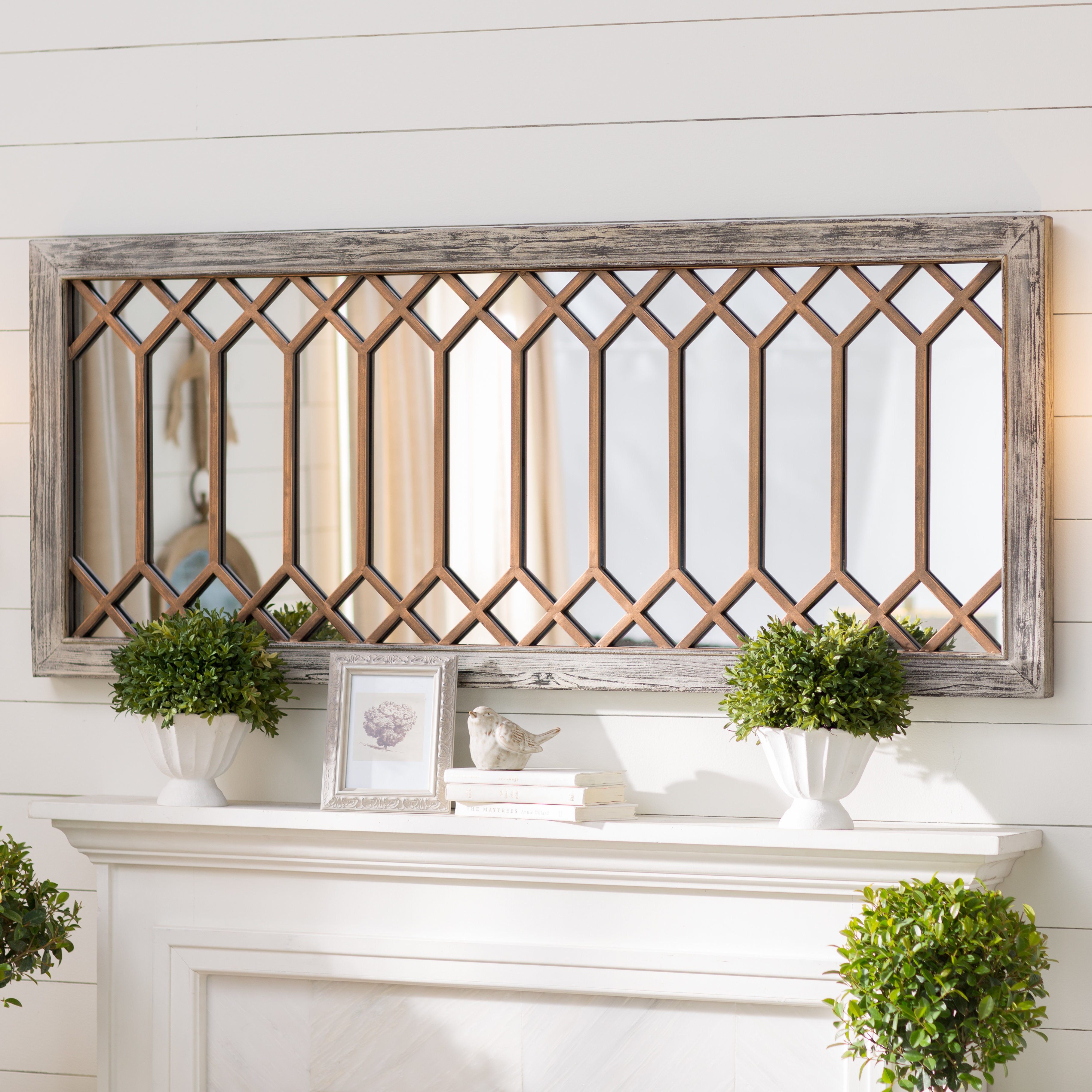 Polito Cottage/country Wall Mirror In Polen Traditional Wall Mirrors (View 7 of 30)
