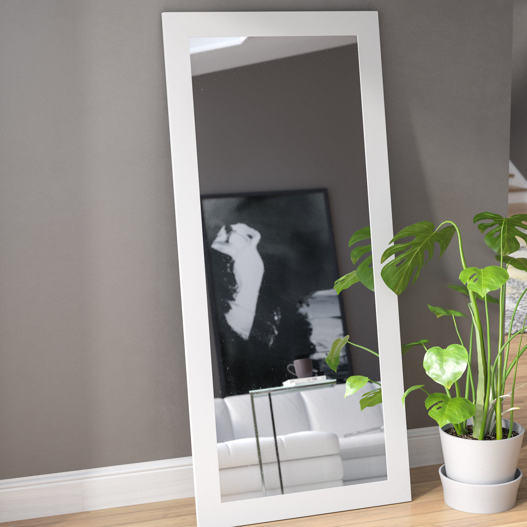 Polzin Full Length Mirror Pertaining To Dalessio Wide Tall Full Length Mirrors (View 28 of 30)