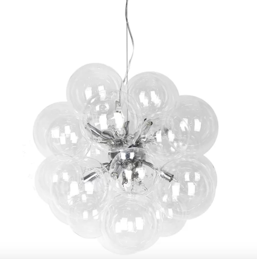 Pottery Barn Lighting Look Alikes For Less! — Trubuild Pertaining To Hamza 6 Light Candle Style Chandeliers (View 16 of 30)