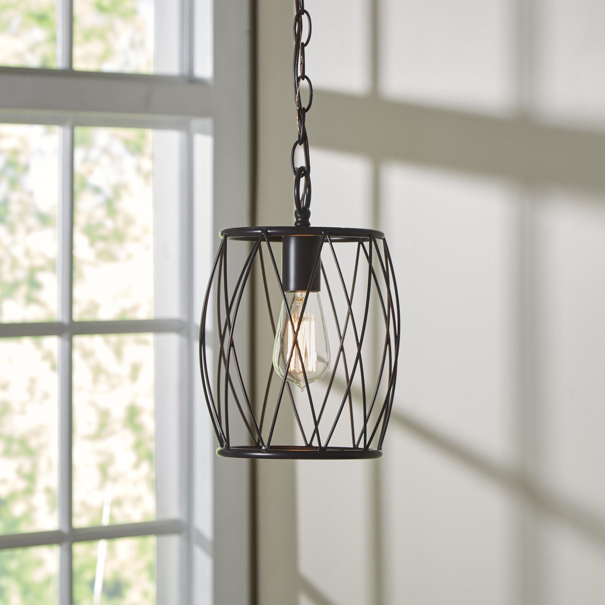 Poynter 1 Light Cylinder Pendant | Future Farm House Intended For Nisbet 4 Light Lantern Geometric Pendants (View 17 of 30)