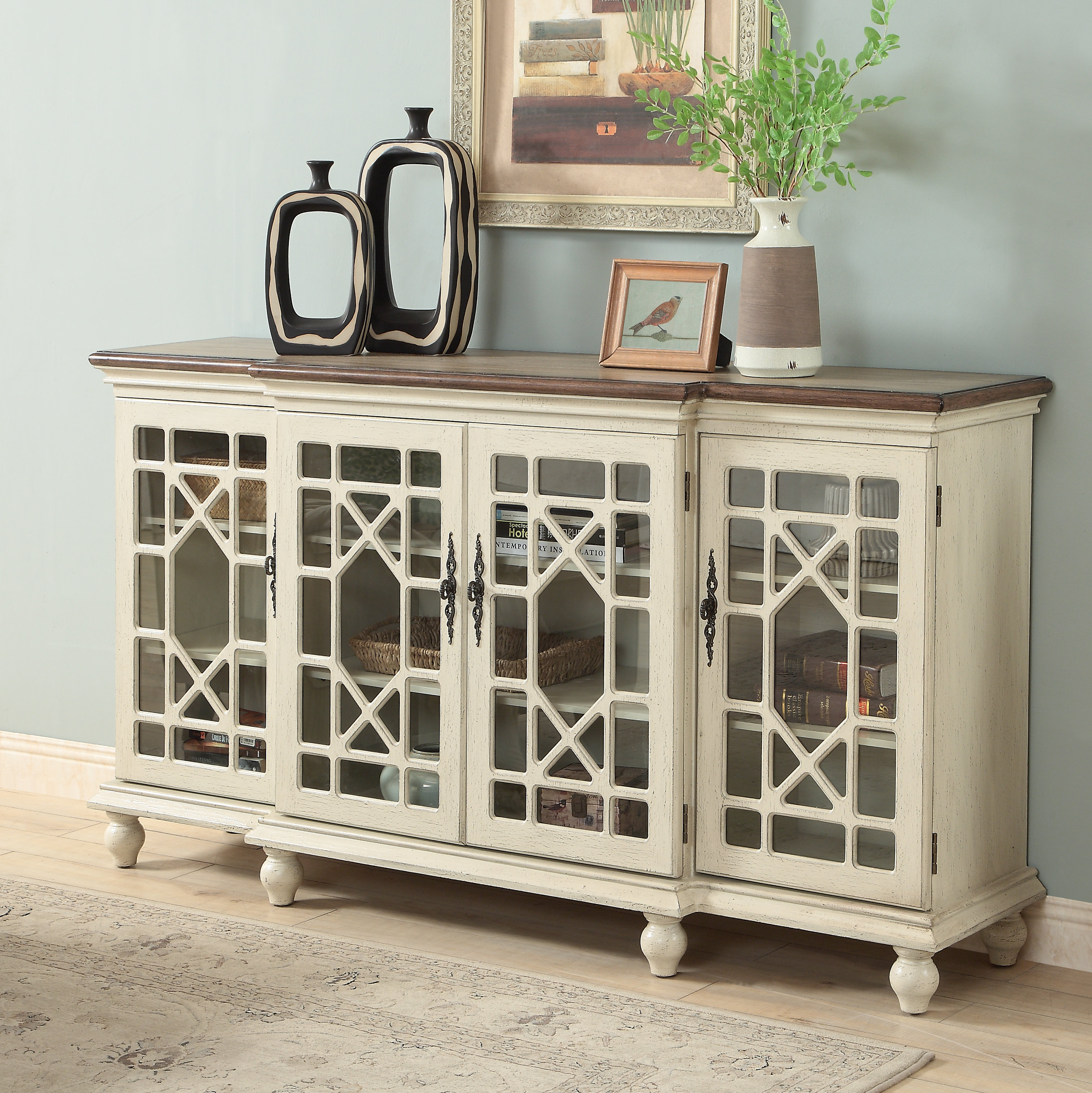 Printer Credenza | Wayfair Throughout Elyza Credenzas (View 18 of 30)