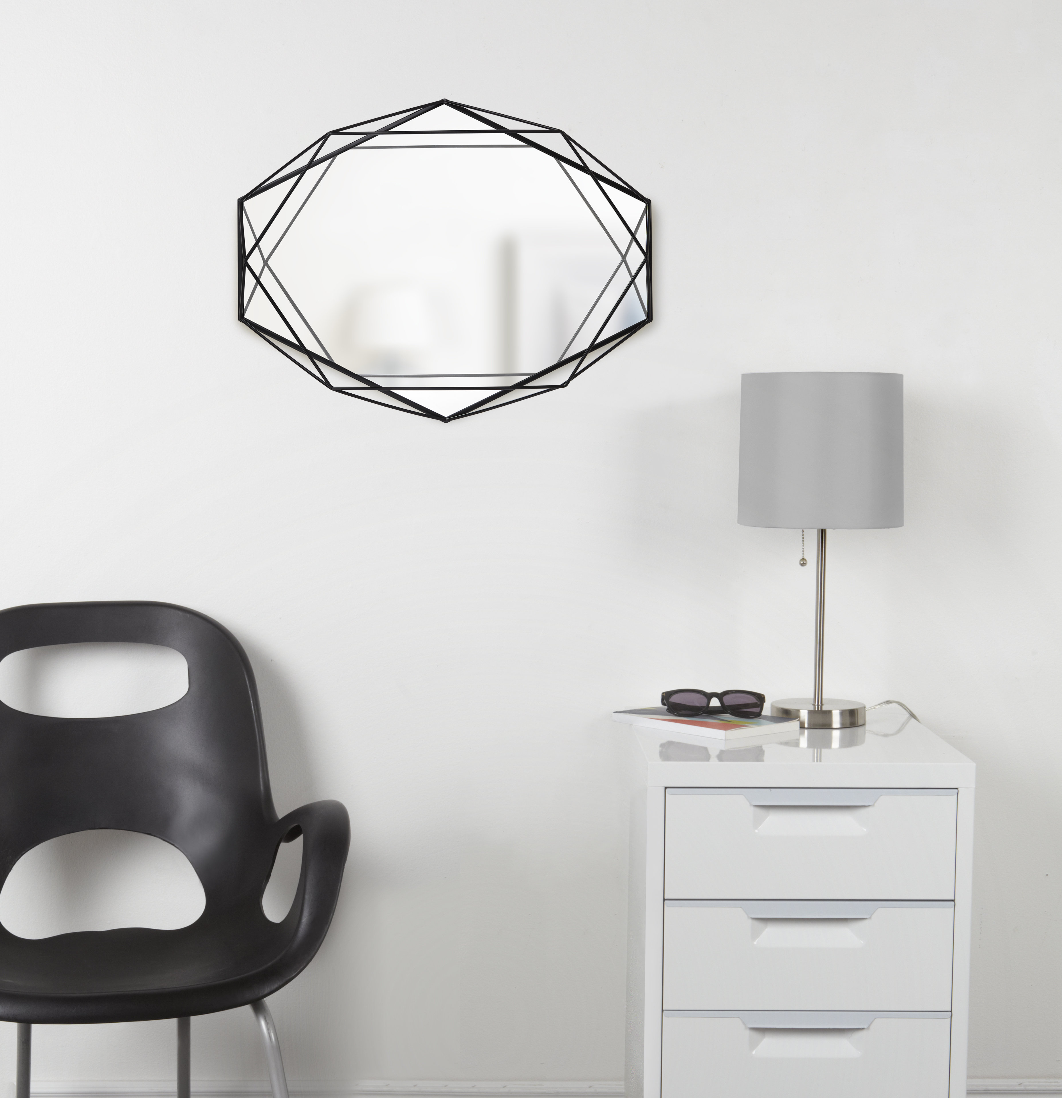 Prisma Modern & Contemporary Accent Mirror & Reviews | Joss For Guidinha Modern & Contemporary Accent Mirrors (View 22 of 30)