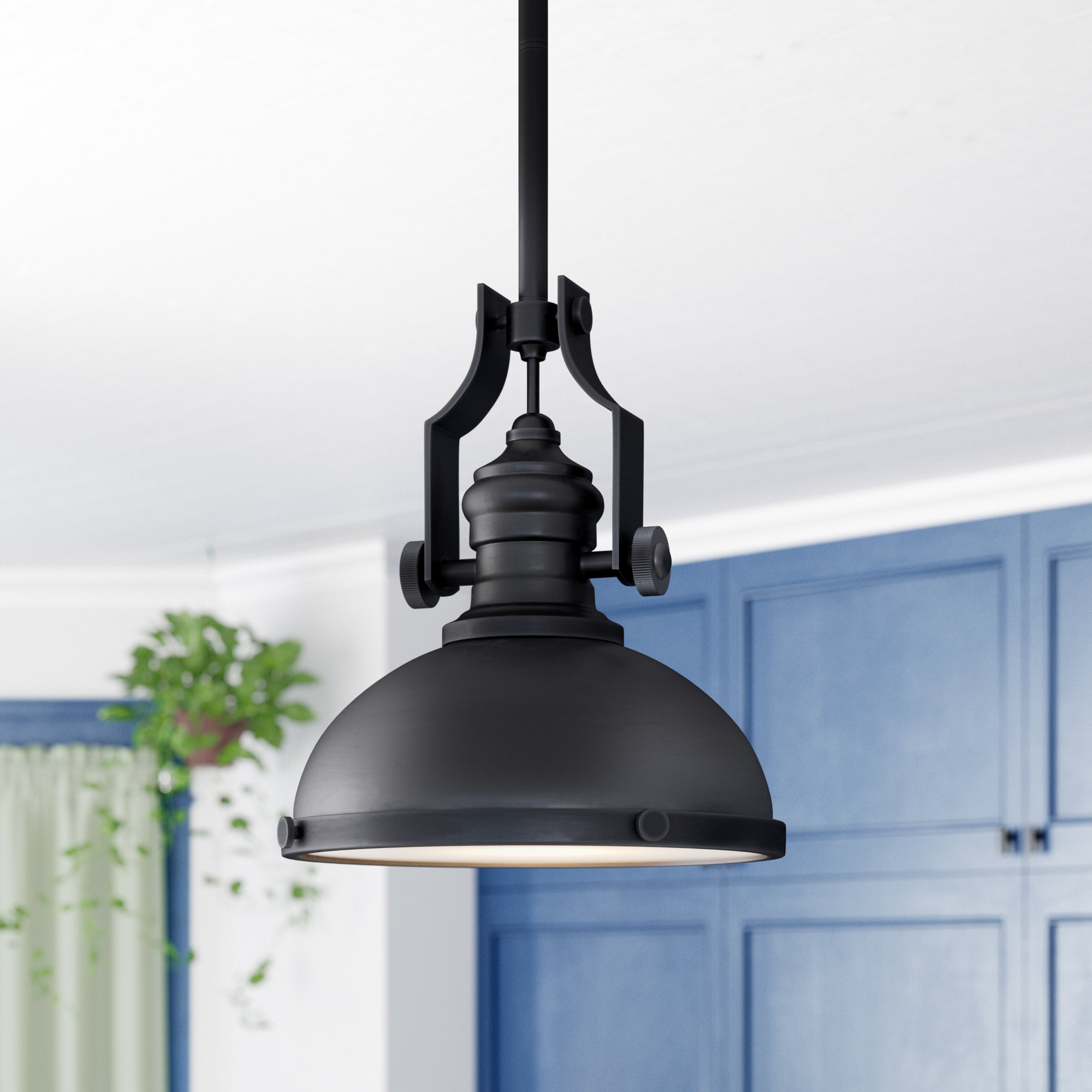 Priston 1 Light Dome Pendant With Regard To Priston 1 Light Single Dome Pendants (View 18 of 30)