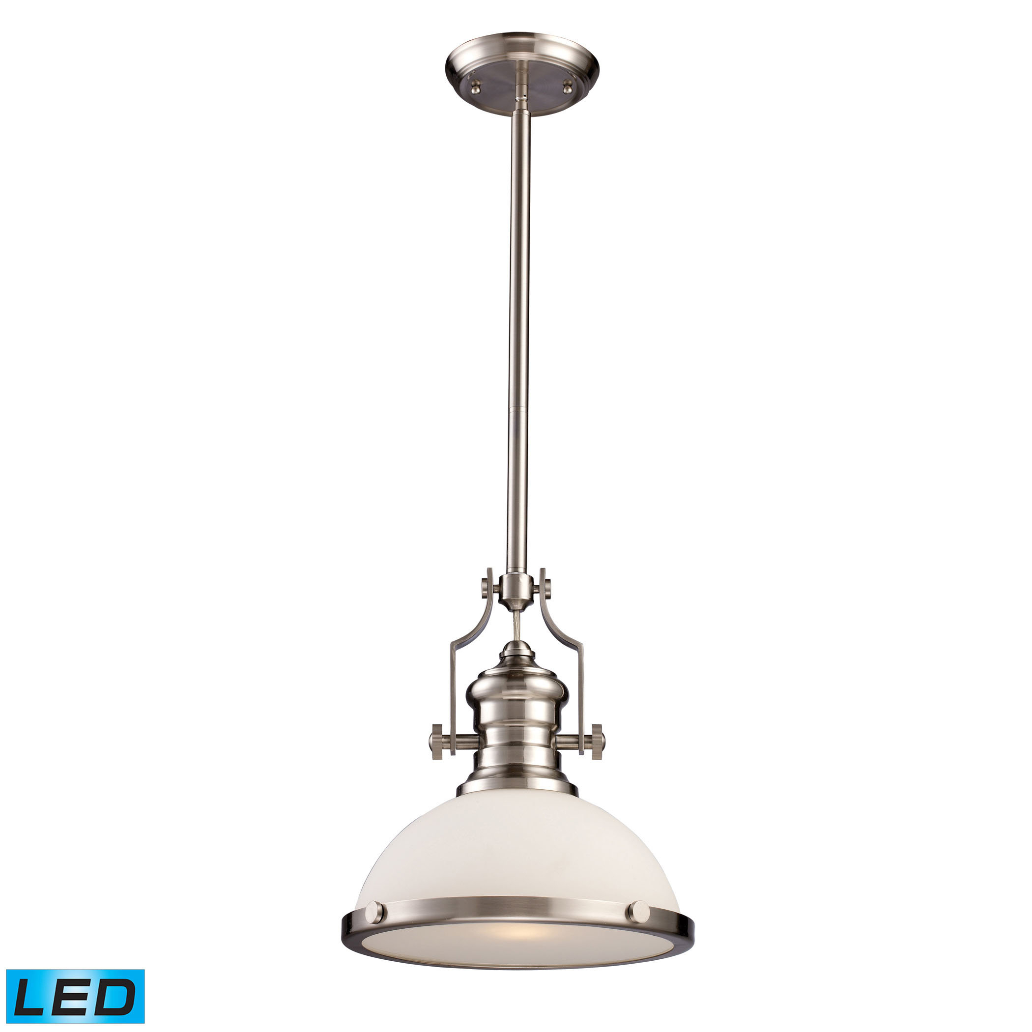 Priston 1-Light Single Dome Pendant within 1-Light Single Dome Pendants (Image 23 of 30)