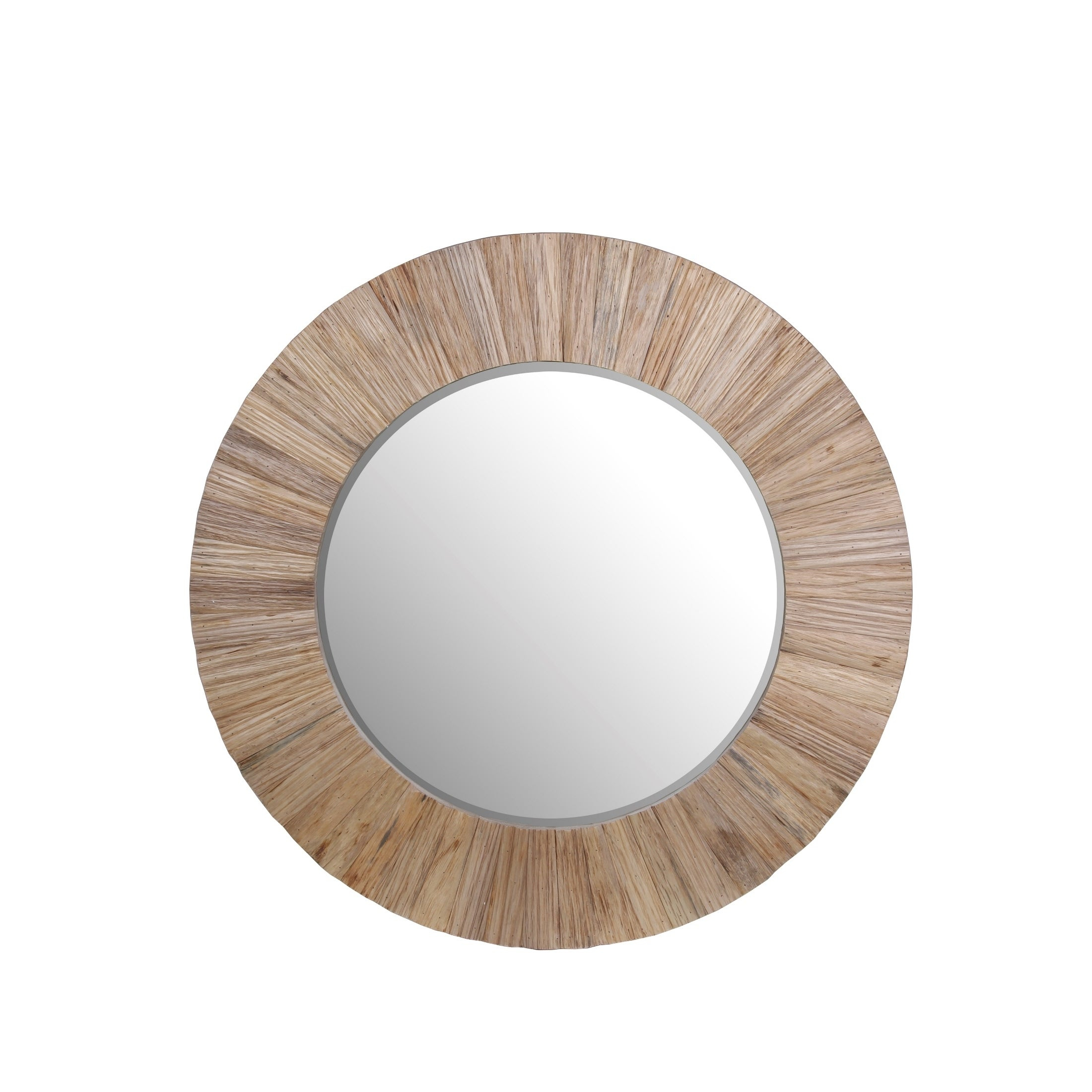 Privilege White Wood Accent Mirror With Regard To Wood Accent Mirrors (View 10 of 30)