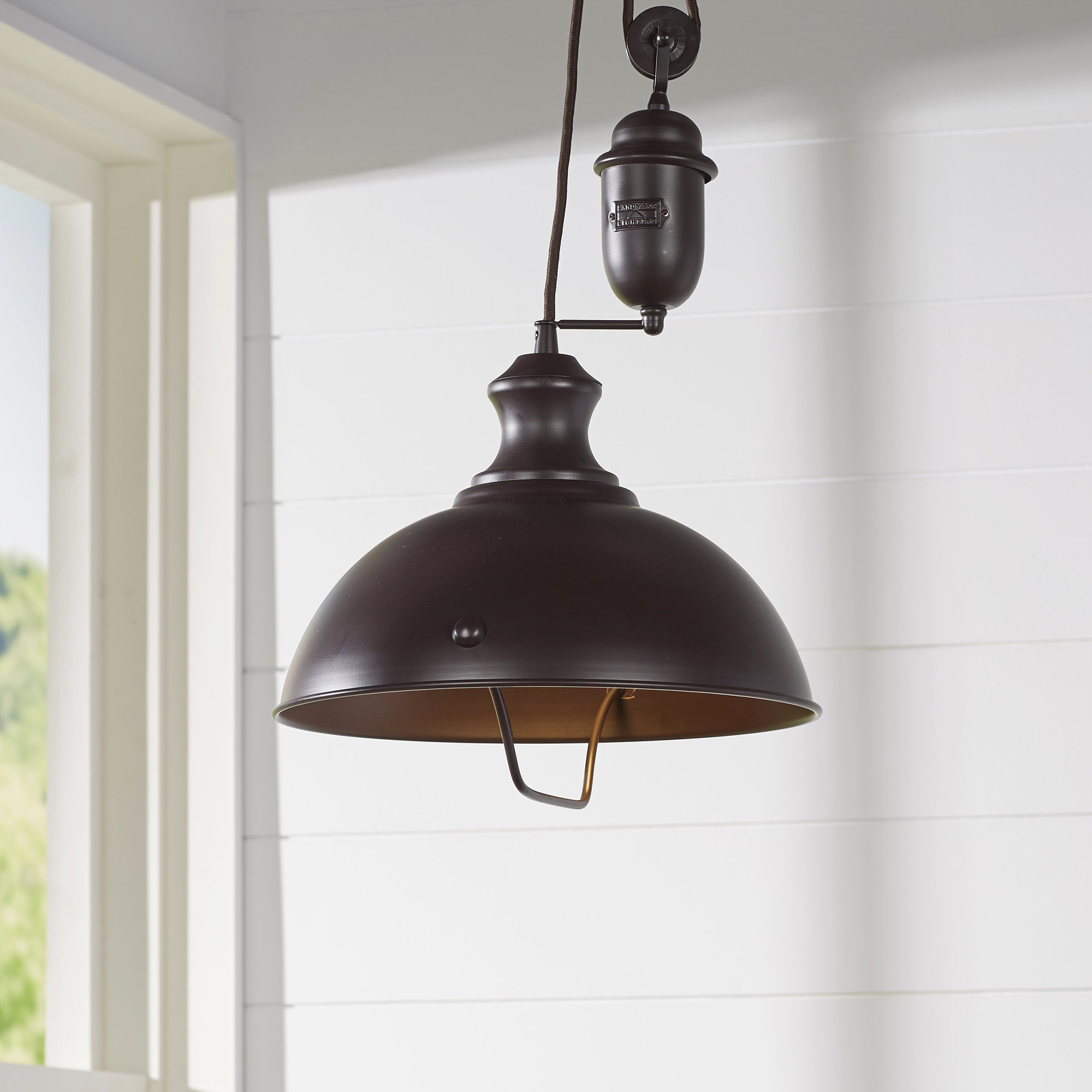 Proctor 1 Light Bowl Pendant | Wayfair With Proctor 1 Light Bowl Pendants (View 5 of 30)