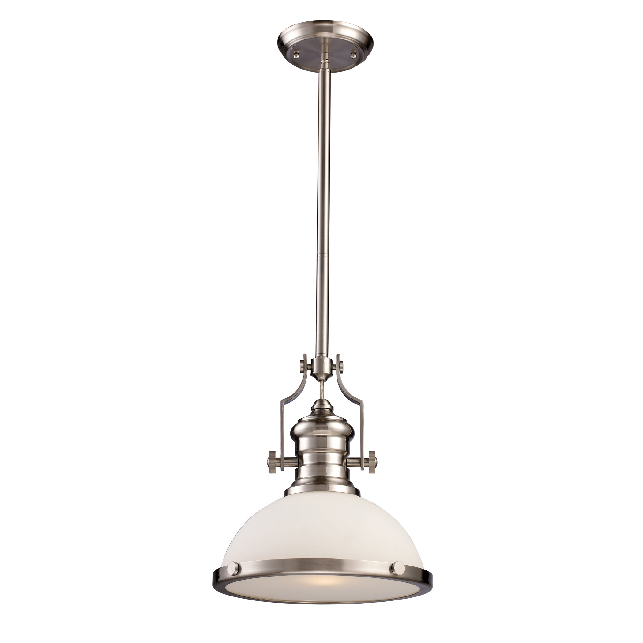 Proctor 1-Light Bowl Pendant within Mueller 1-Light Single Dome Pendants (Image 25 of 30)