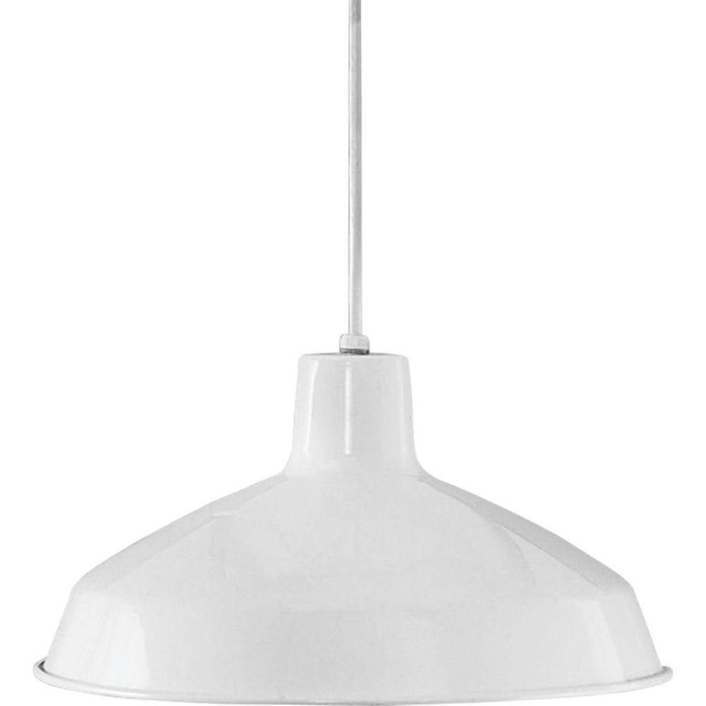 Progress Lighting 1 Light Brushed Nickel Led Pendant With Regarding Gattis 1 Light Dome Pendants (View 3 of 30)