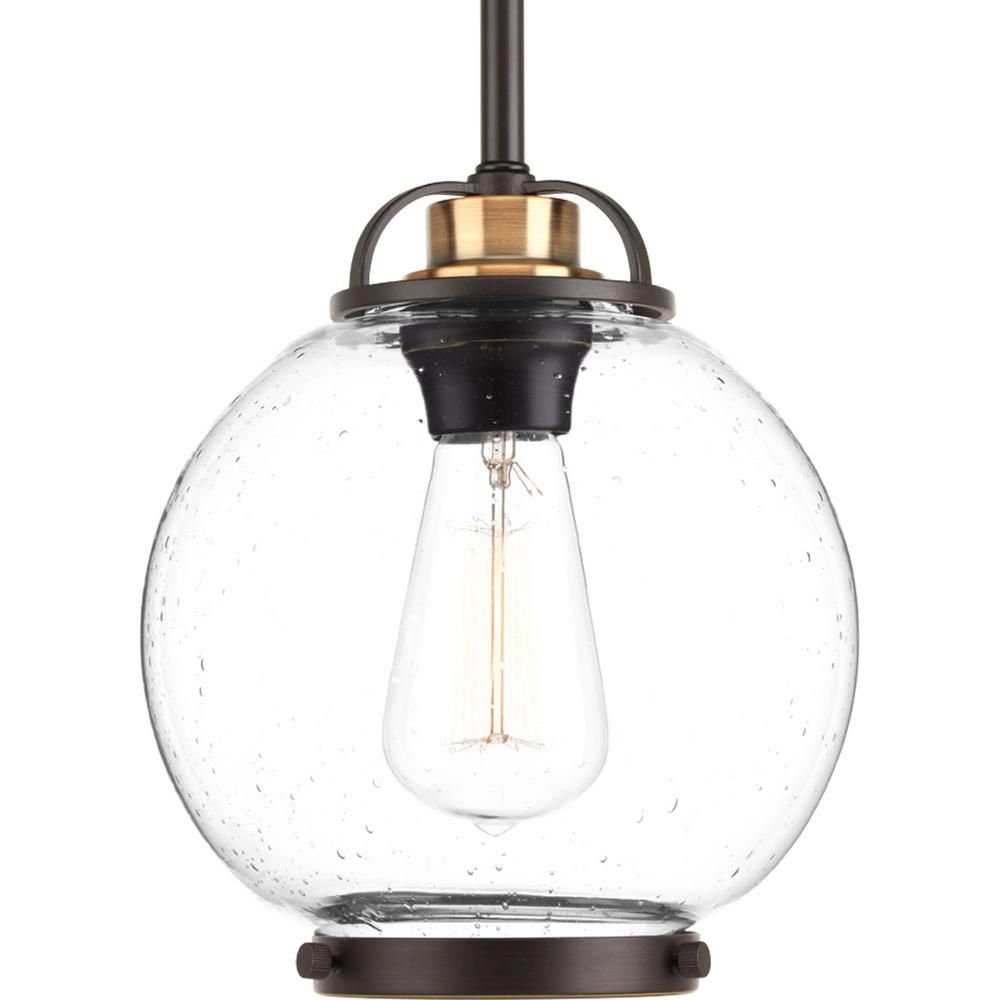 Progress Lighting Chronicle Collection 1-Light Polished with regard to Moyer 1-Light Single Cylinder Pendants (Image 19 of 30)