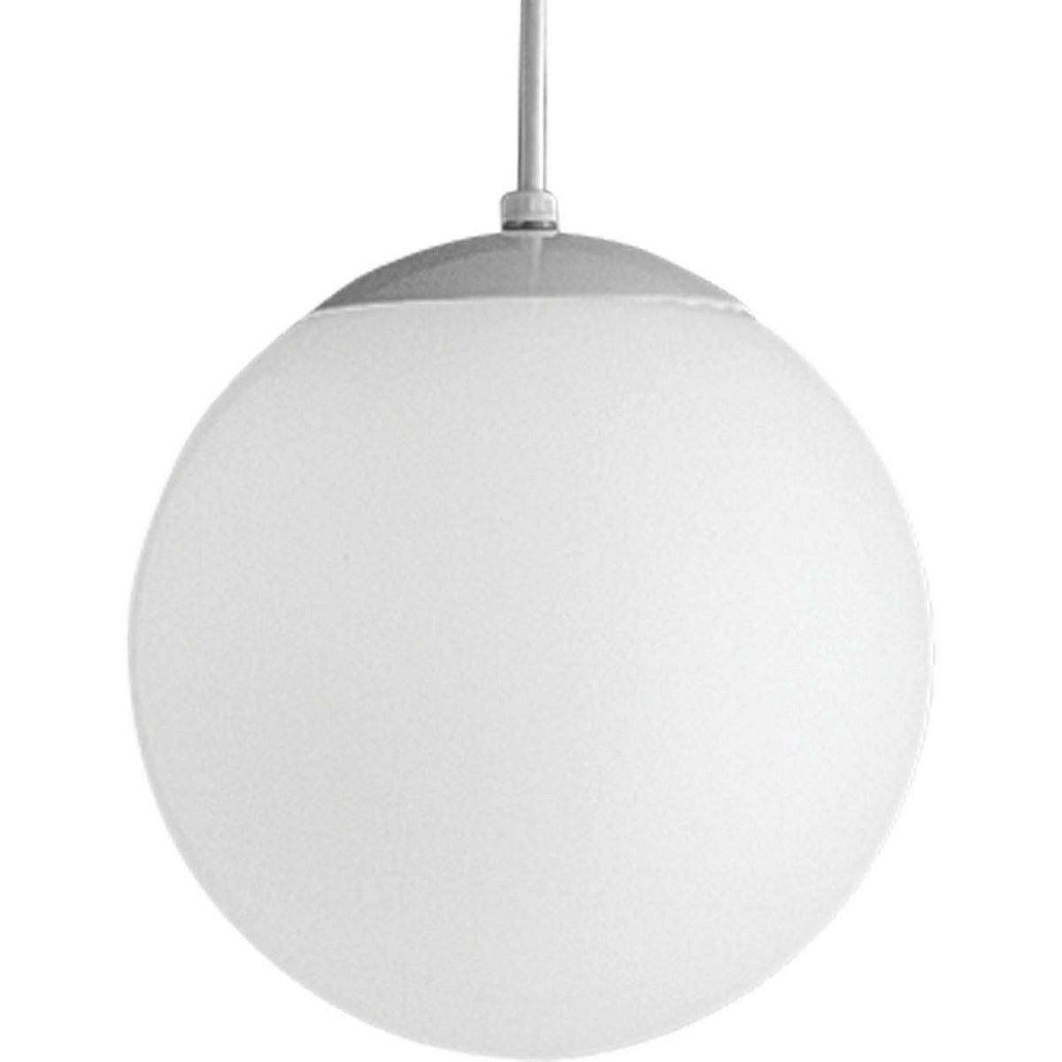 Progress Lighting P4402 29 Opal Globes 1 Light Pendant – N/a Regarding 1 Light Globe Pendants (View 25 of 30)