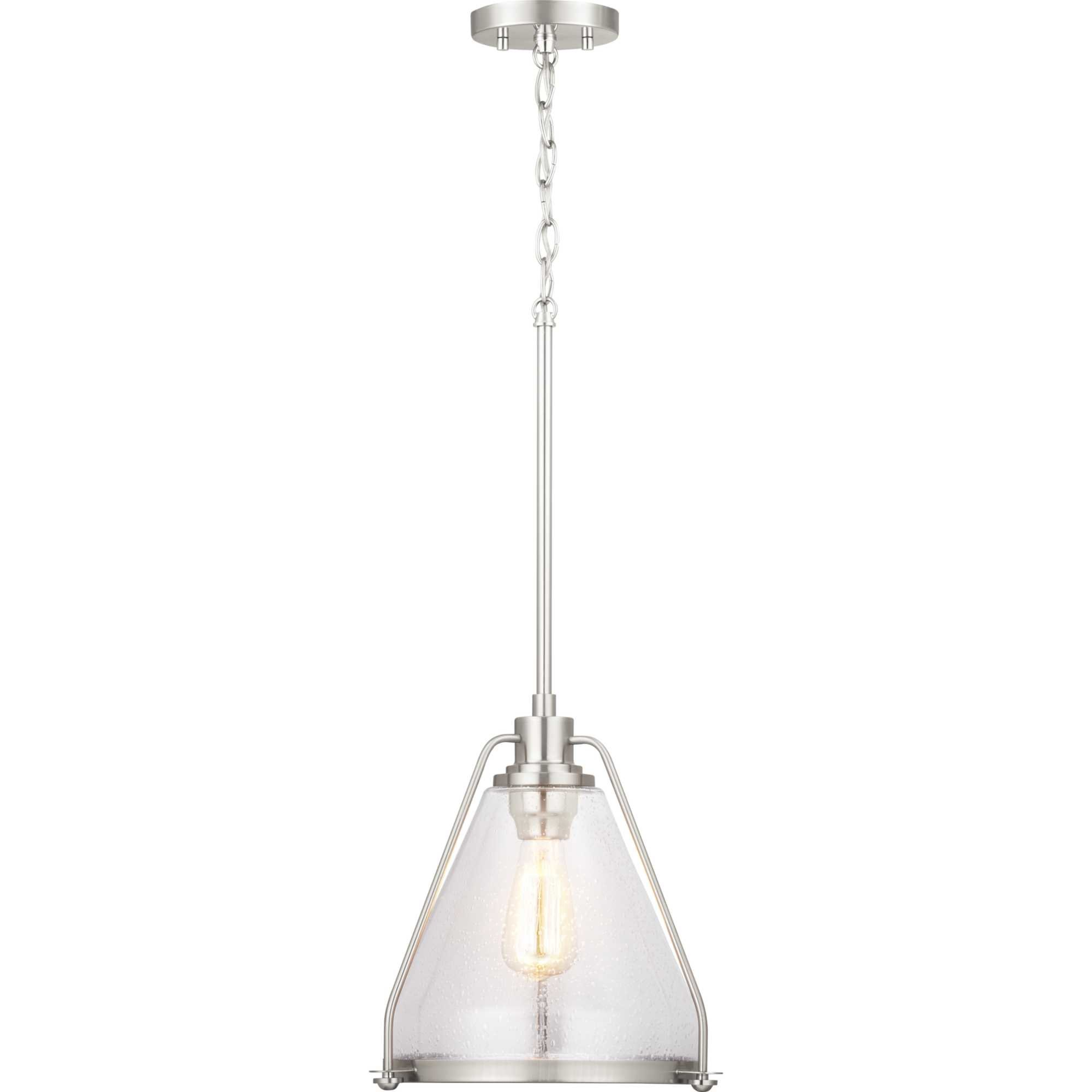 Propst 1 Light Cone Pendant In Bundaberg 1 Light Single Bell Pendants (View 23 of 30)