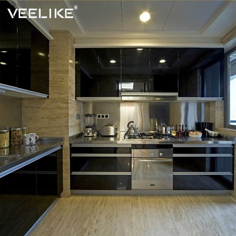 Pvc Vinyl Contact Paper Self Adhesive Wallpaper Sticker For Kitchen Cabinet Cover Wall Decals Furniture Wall Stickers Home Decor Throughout Brushed Pearl Over The Door Wall Decor (View 23 of 30)