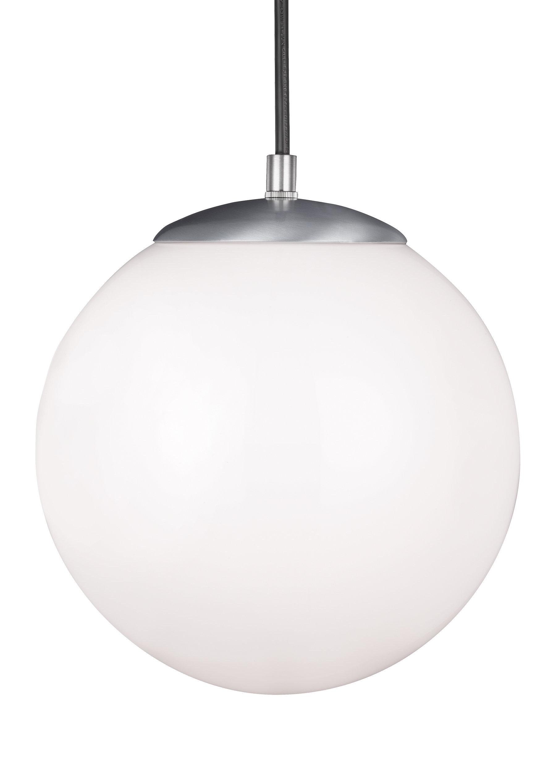 Quinn 1-Light Led Globe Pendant pertaining to Bautista 1-Light Single Globe Pendants (Image 27 of 30)