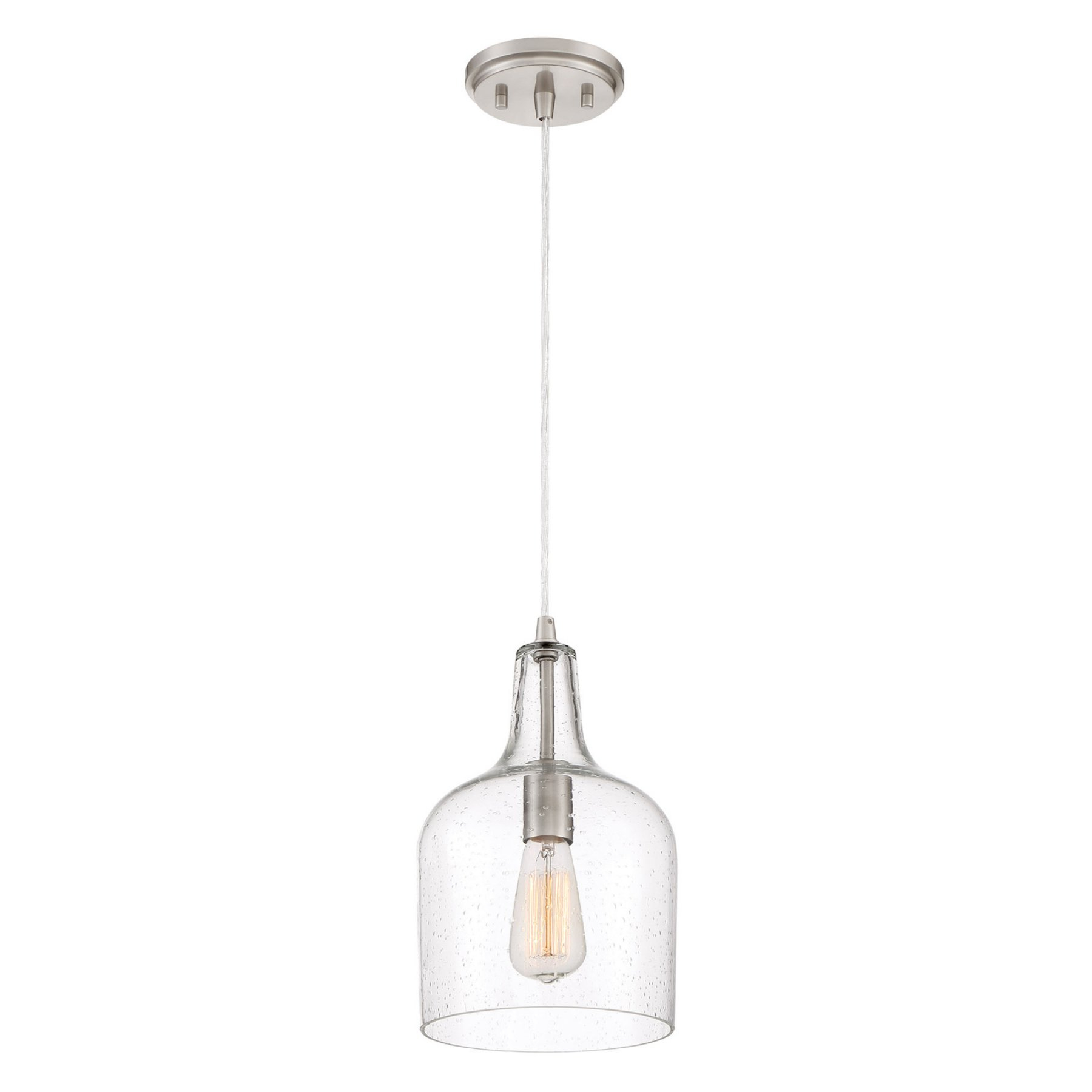 Quoizel Qpp3402Bn Mini Pendant Light | Products In 2019 intended for Clematite 1-Light Single Jar Pendants (Image 26 of 30)